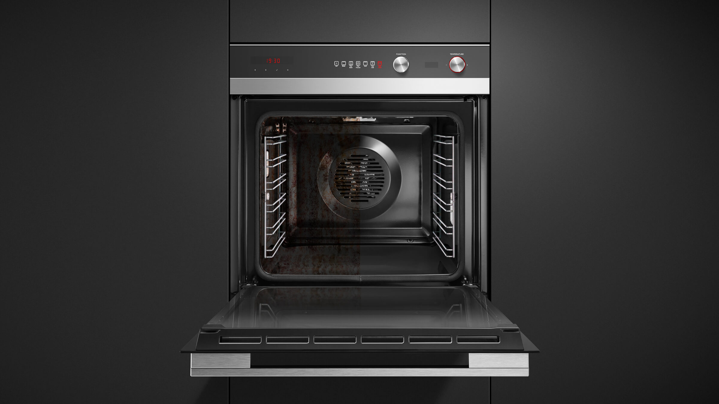 Ob60sc6cepx2 Built In Oven Pyrolytic 6 Function 85l