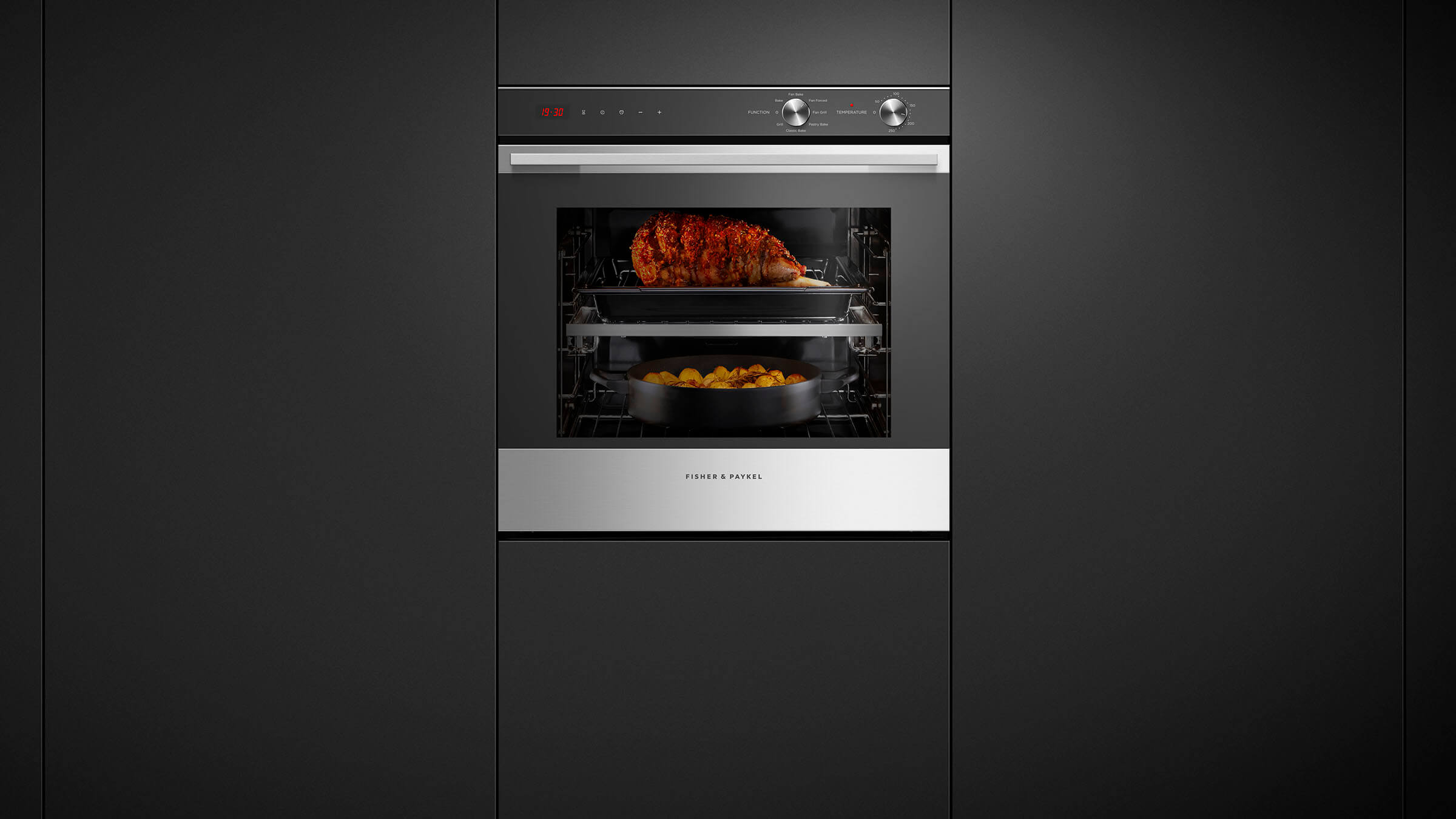 Ob60sl7dex1 Fisher And Paykel Function Single Built In Oven Wiring Diagram 4 Wire Stove Sized To Suit
