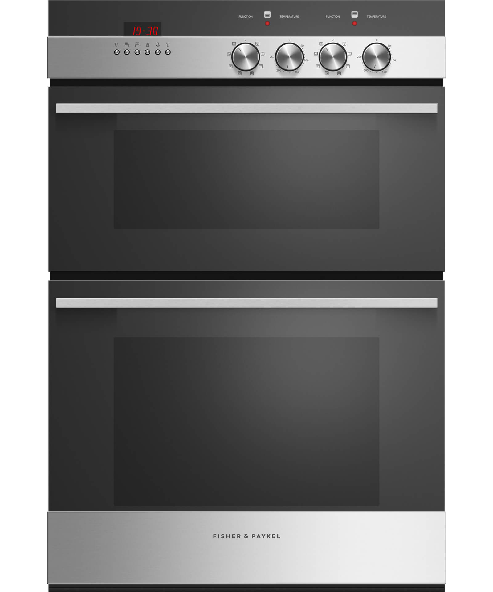 OB60B77DEX3 - 60cm 7 Function Double Built-in Oven - 45L + 71L Gross Capacity - 81475