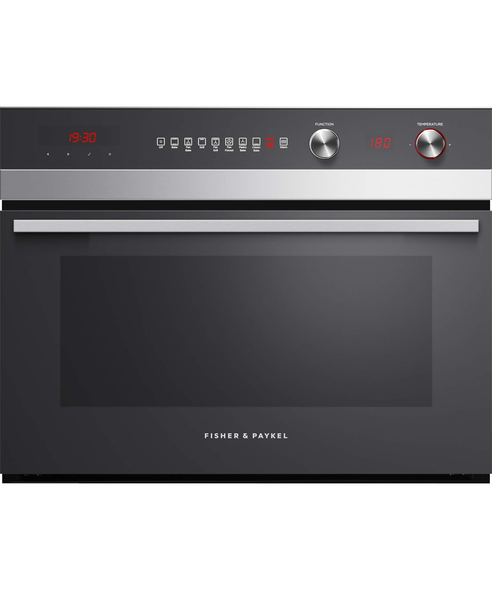 OB60NC9DEX1 - 60cm 9 Function Compact Built-in Oven - 55L Gross Capacity - 81497