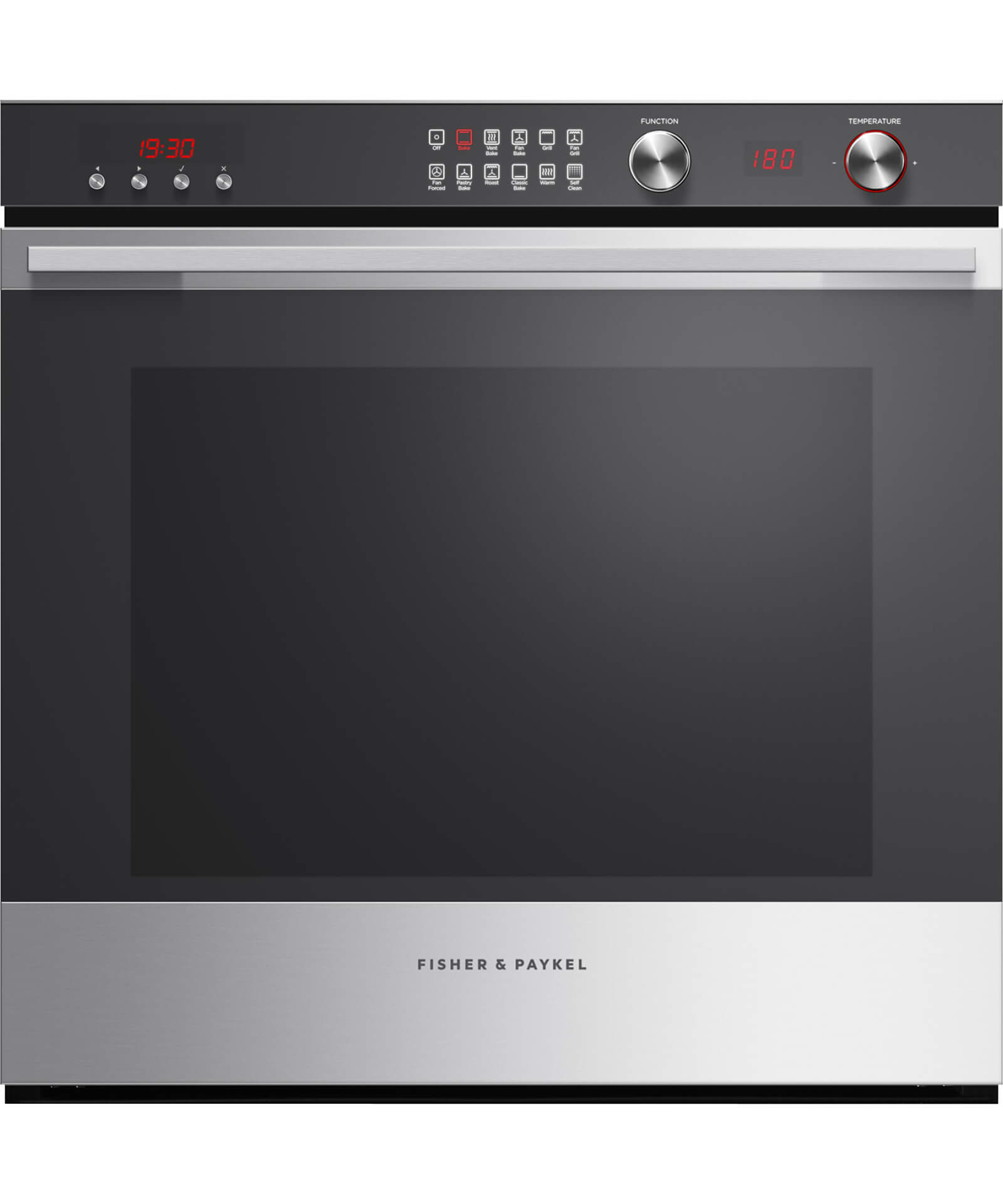 OB60SL11DEPX1 - 60cm 11 Function Pyrolytic Built-in Oven - 90L Gross Capacity - 81481