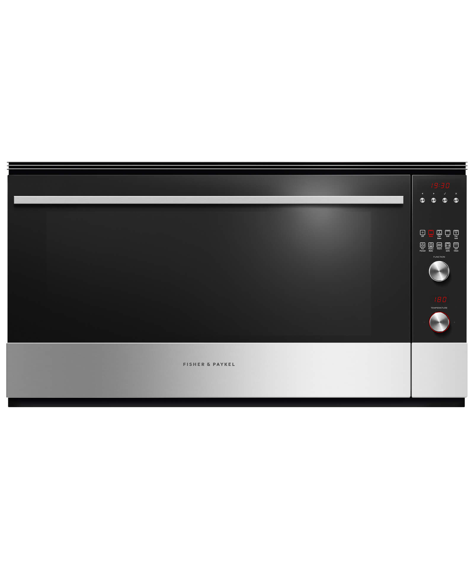 Ob90s9mepx3 Fisher Amp Paykel 90cm Pyrolytic Built In Oven