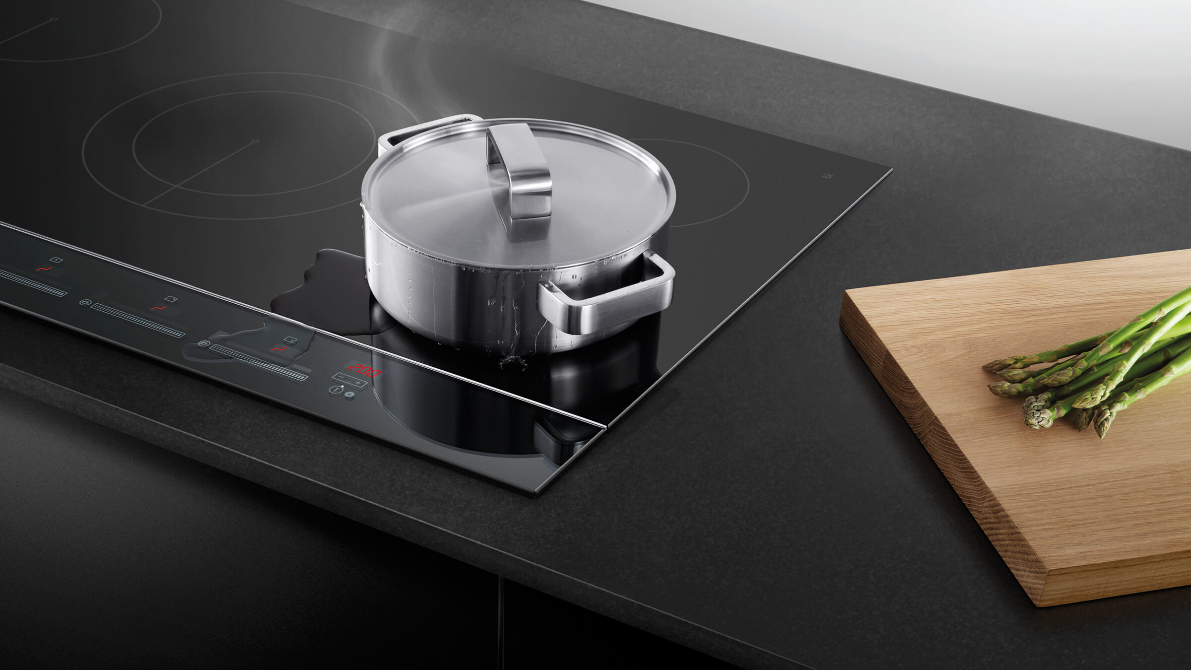 Heating Induction Cook Tops ~ Fisher paykel cm zone induction cooktop black