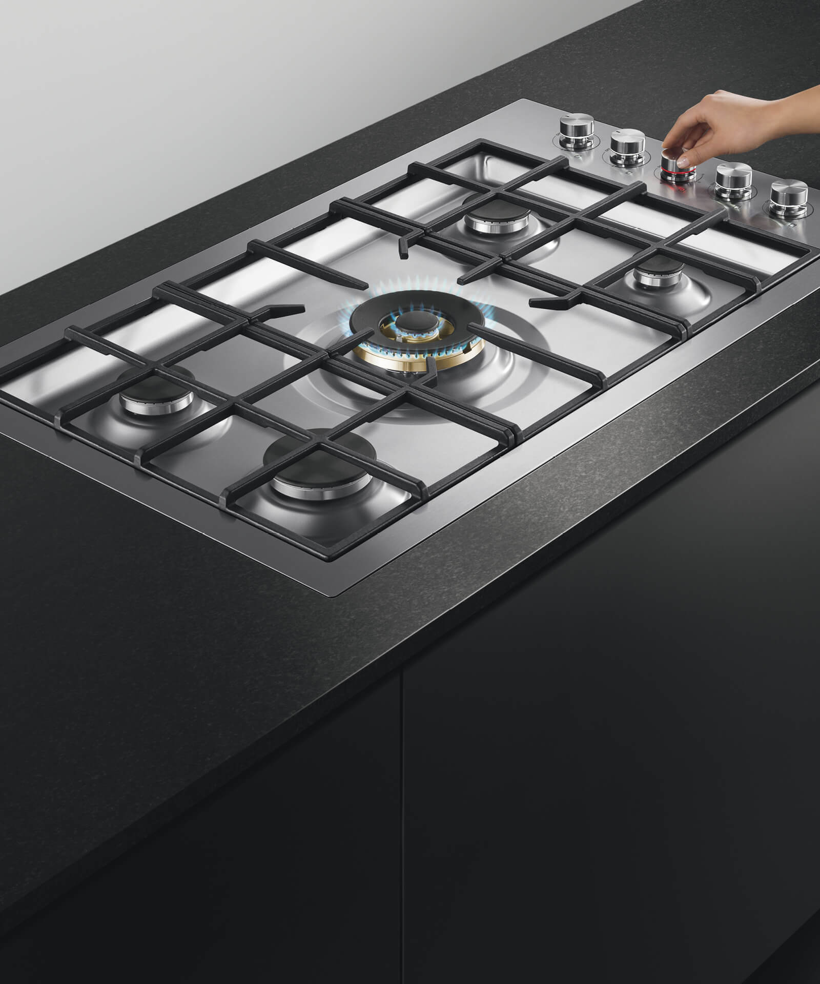 ... 5 Burner Gas Cooktop   80911. PrevNext