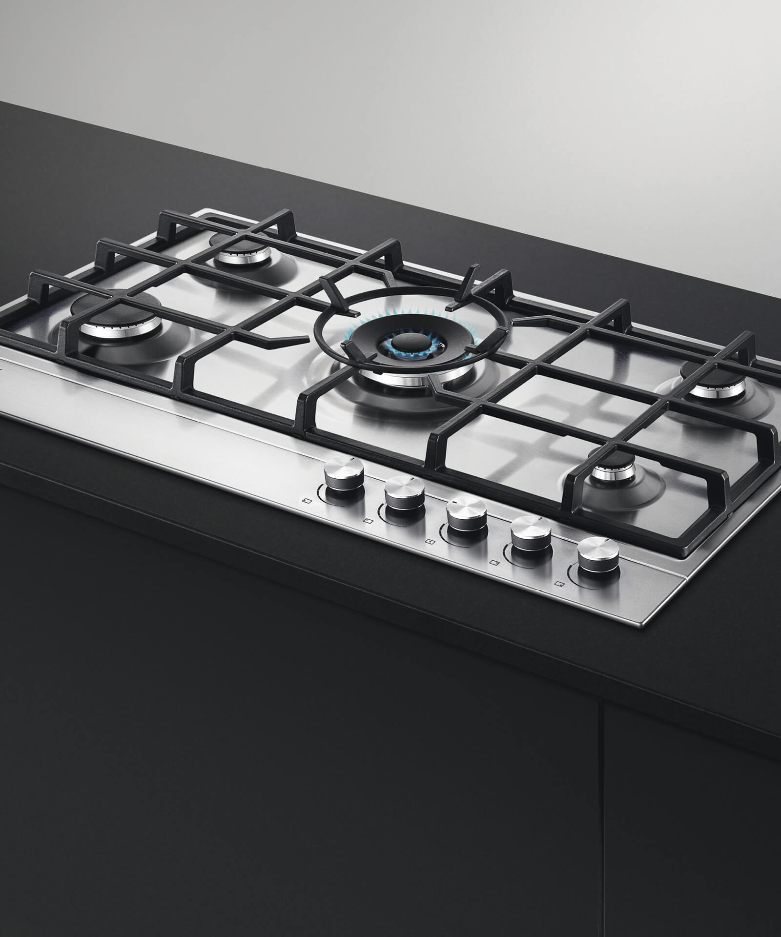 Cg905dx1 Fisher Paykel 90cm Gas On Steel Cooktop