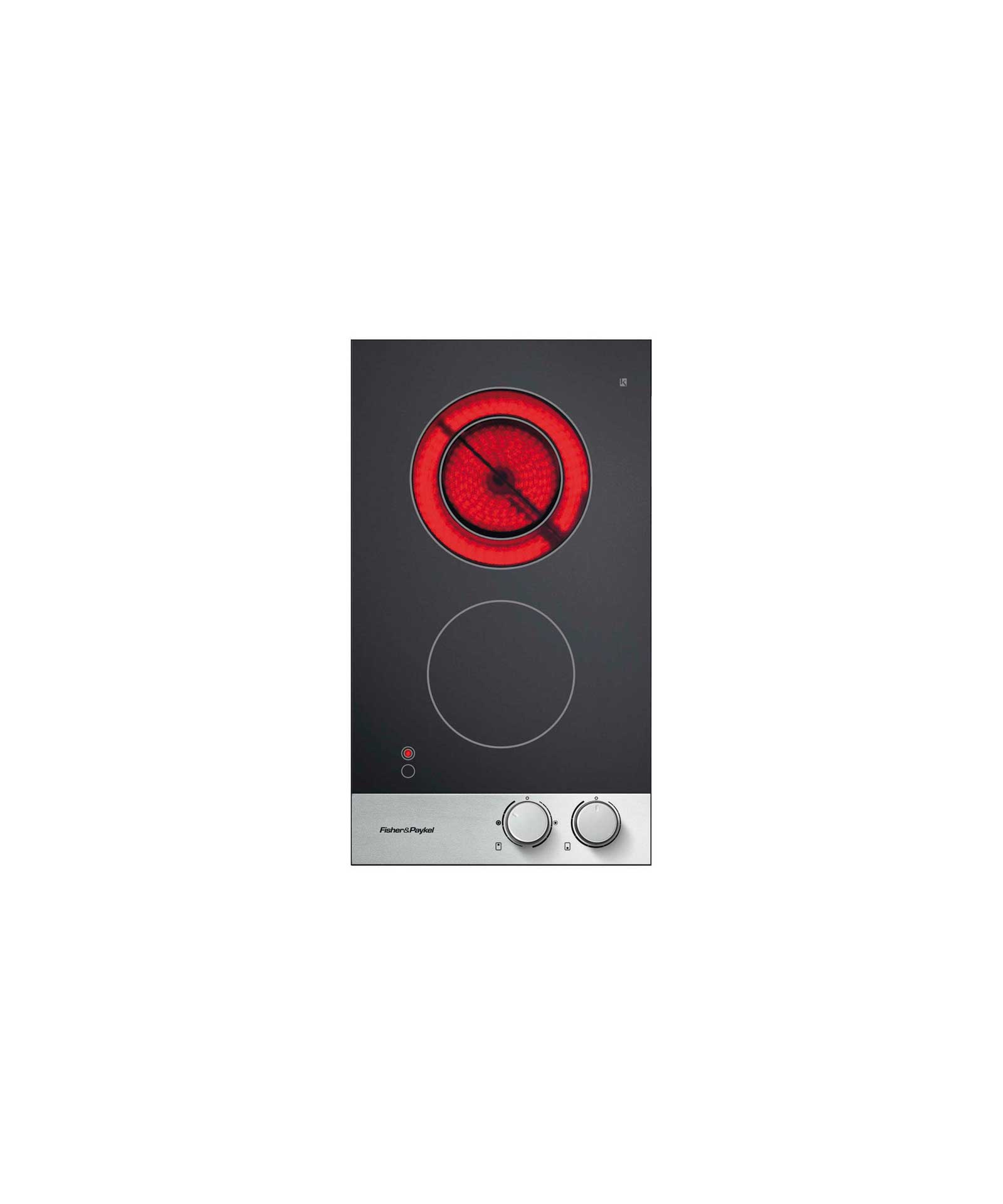 Fisher and Paykel Front Control Cooktop
