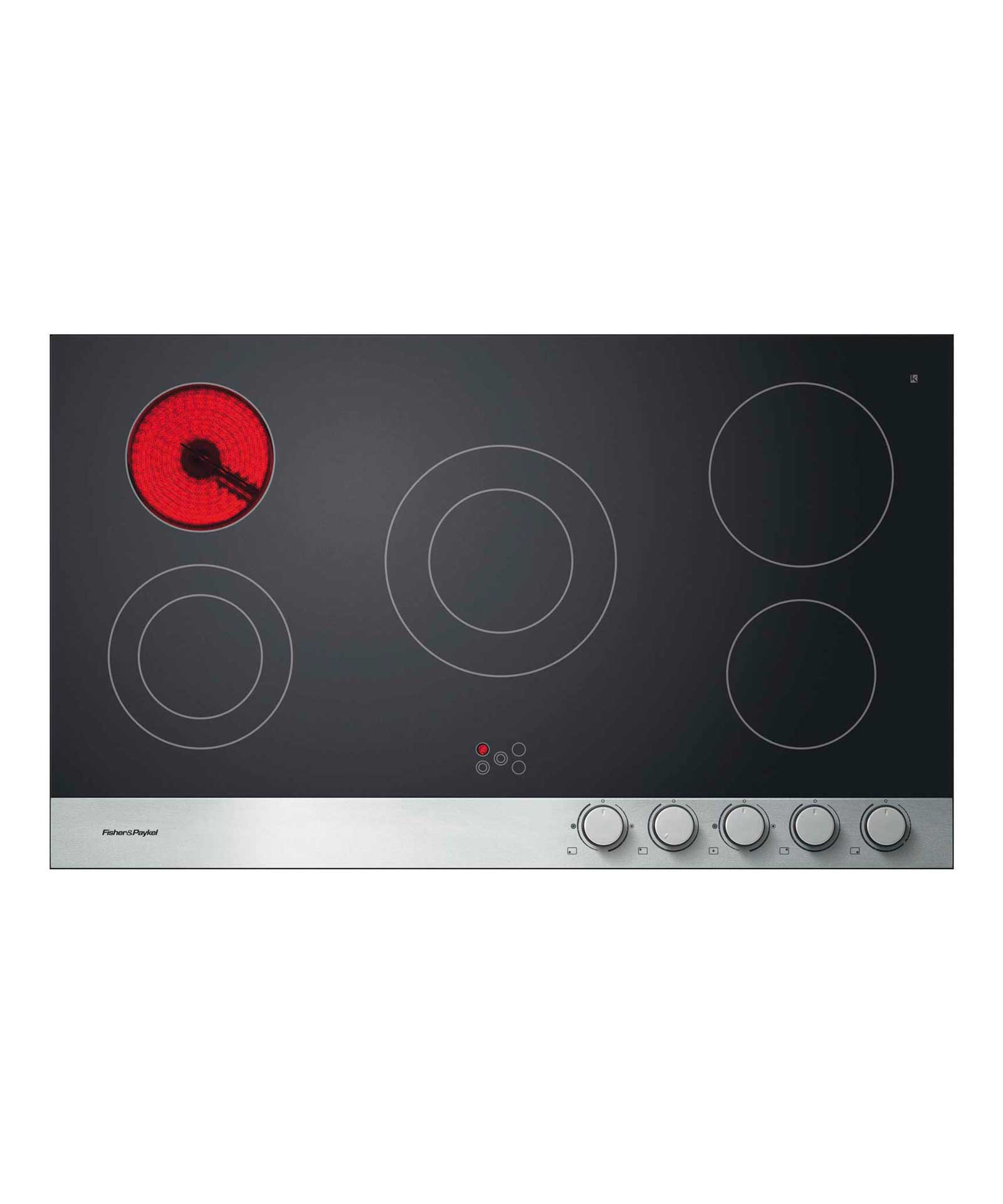 90cm Front Control Ceramic Hob, Fisher & Paykel Appliances