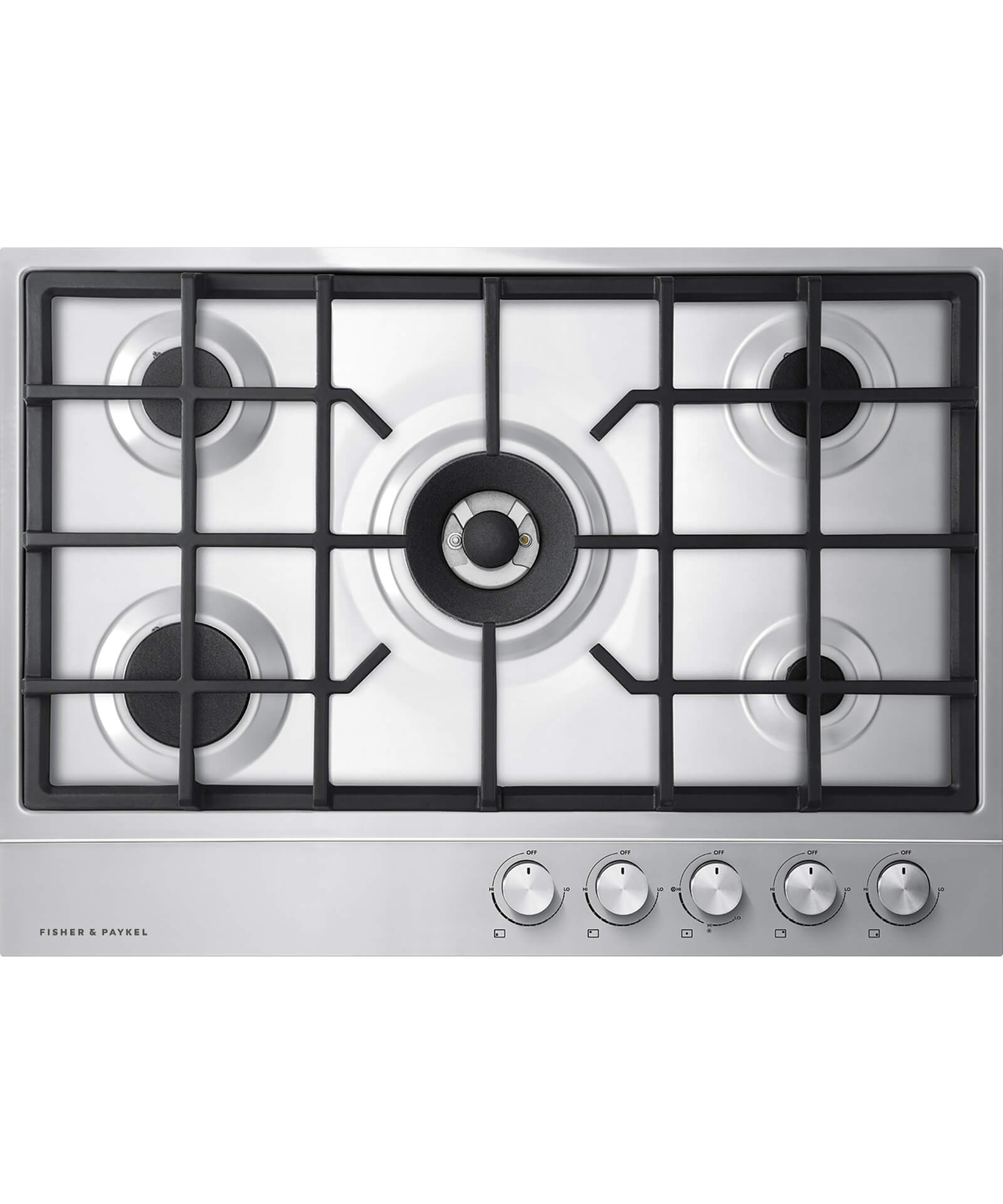 "5 Burner Gas Cooktops: 30"" 5 Burner Gas Cooktop"