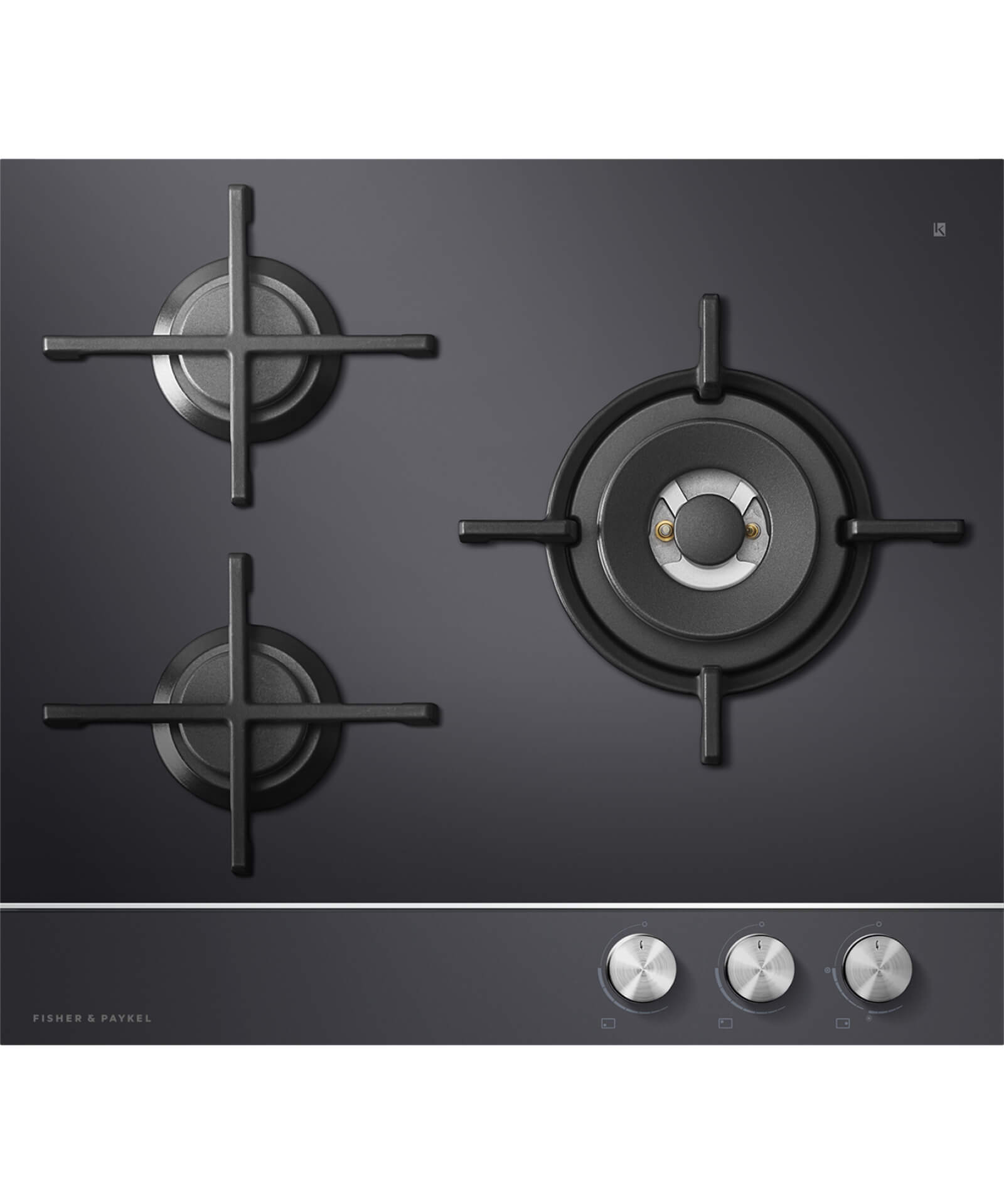 CG603DNGGB1   60cm Gas On Glass Cooktop   80951