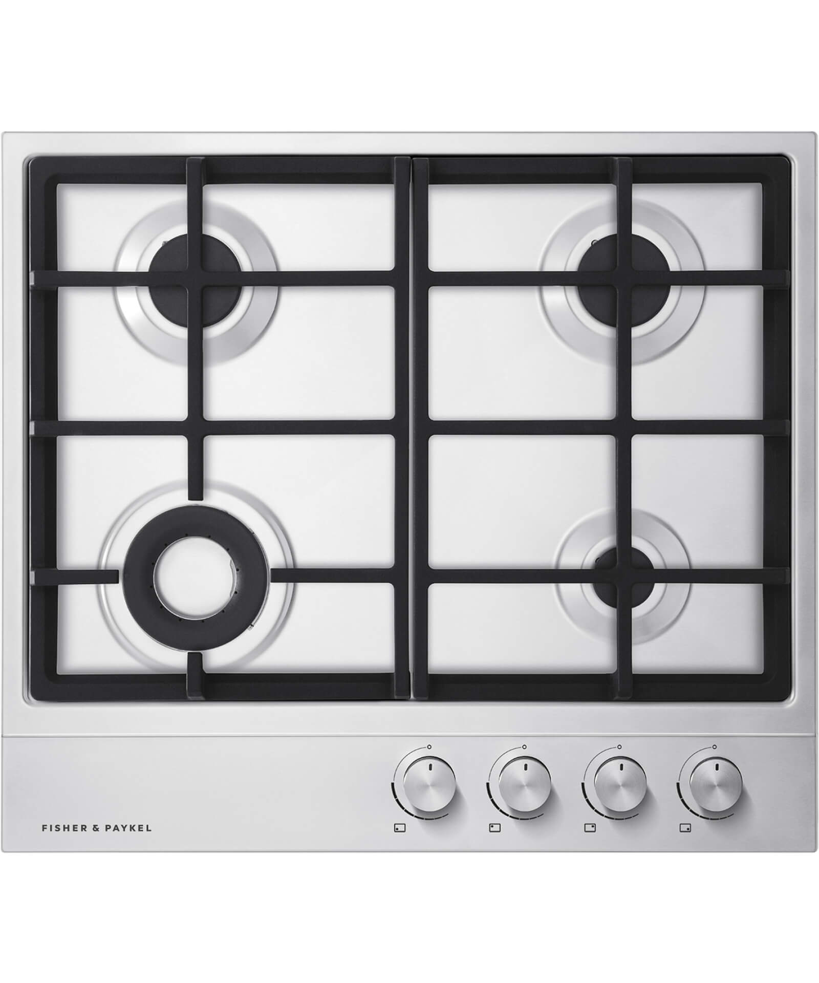 CG604DNGX1 - 60cm Gas on Steel Hob - 80802