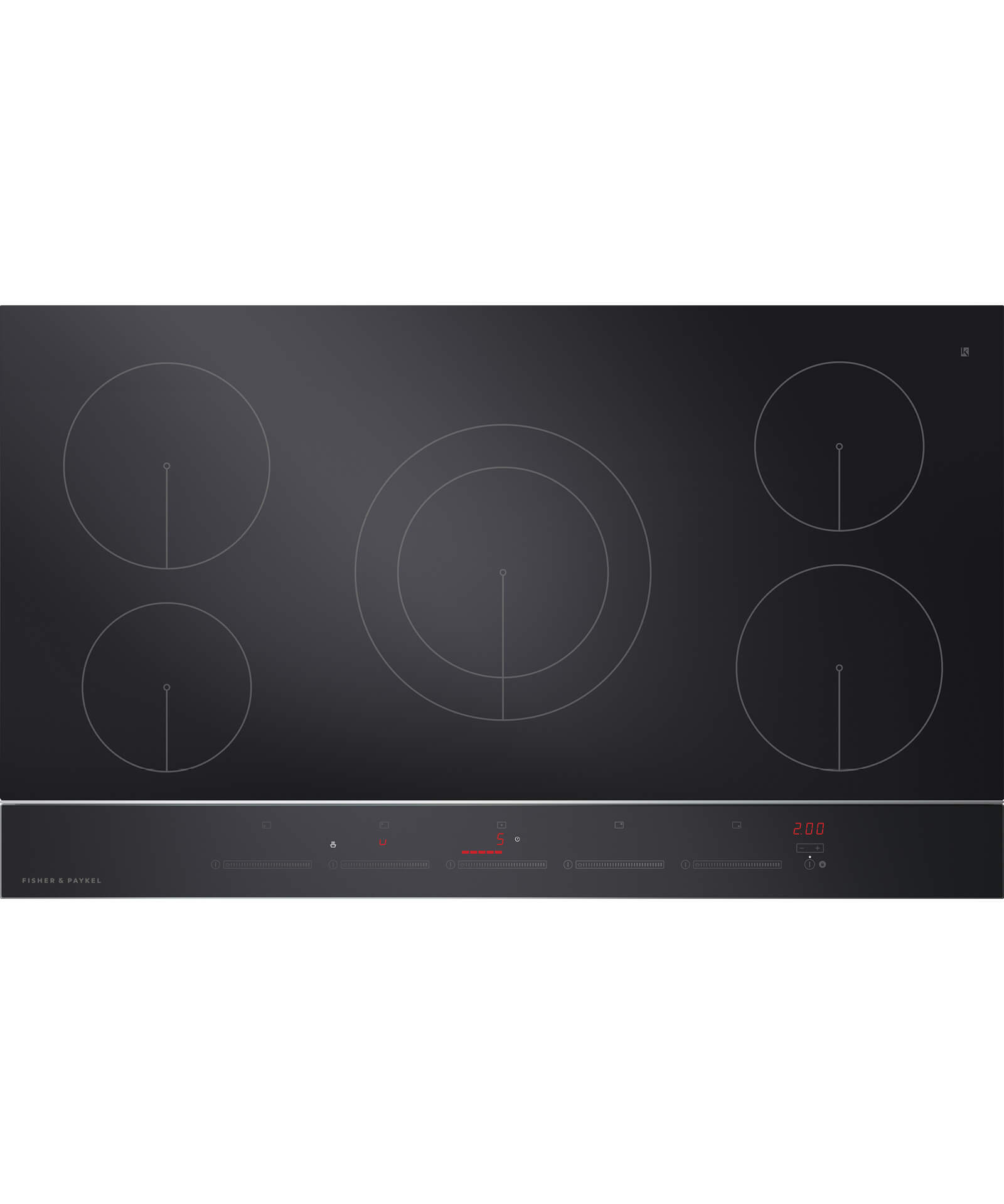 "CI365DTB2_N - 36"" 5 Zone Touch&Slide Induction Cooktop - 81366"