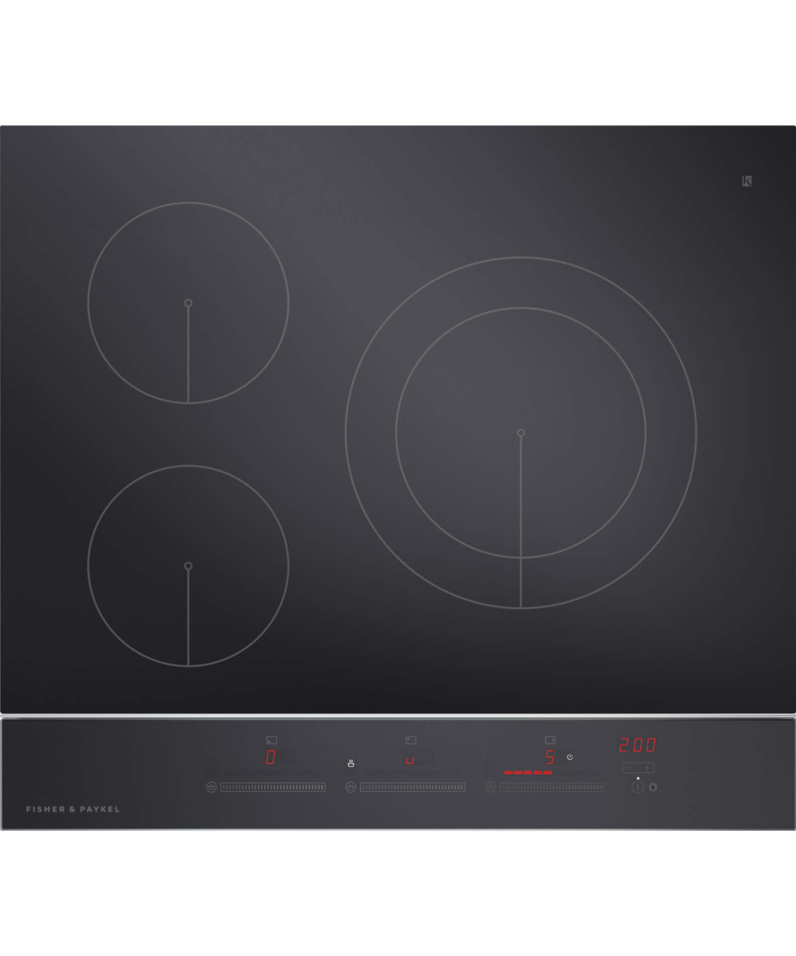 CI603DTB2 - 60cm 3 Zone Touch&Slide Induction Cooktop - 81356