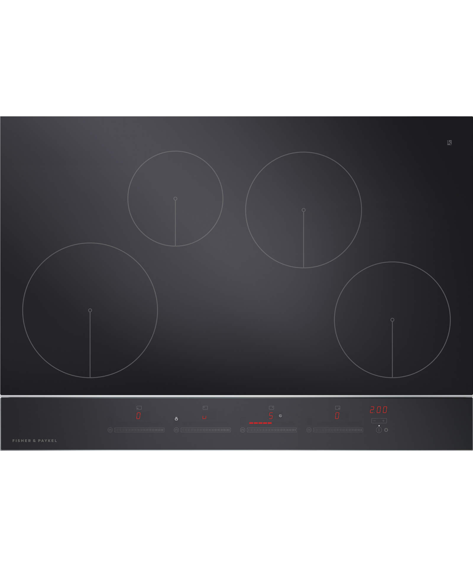 CI754DTB2 - 75cm 4 Zone Touch&Slide Induction Cooktop - 81364