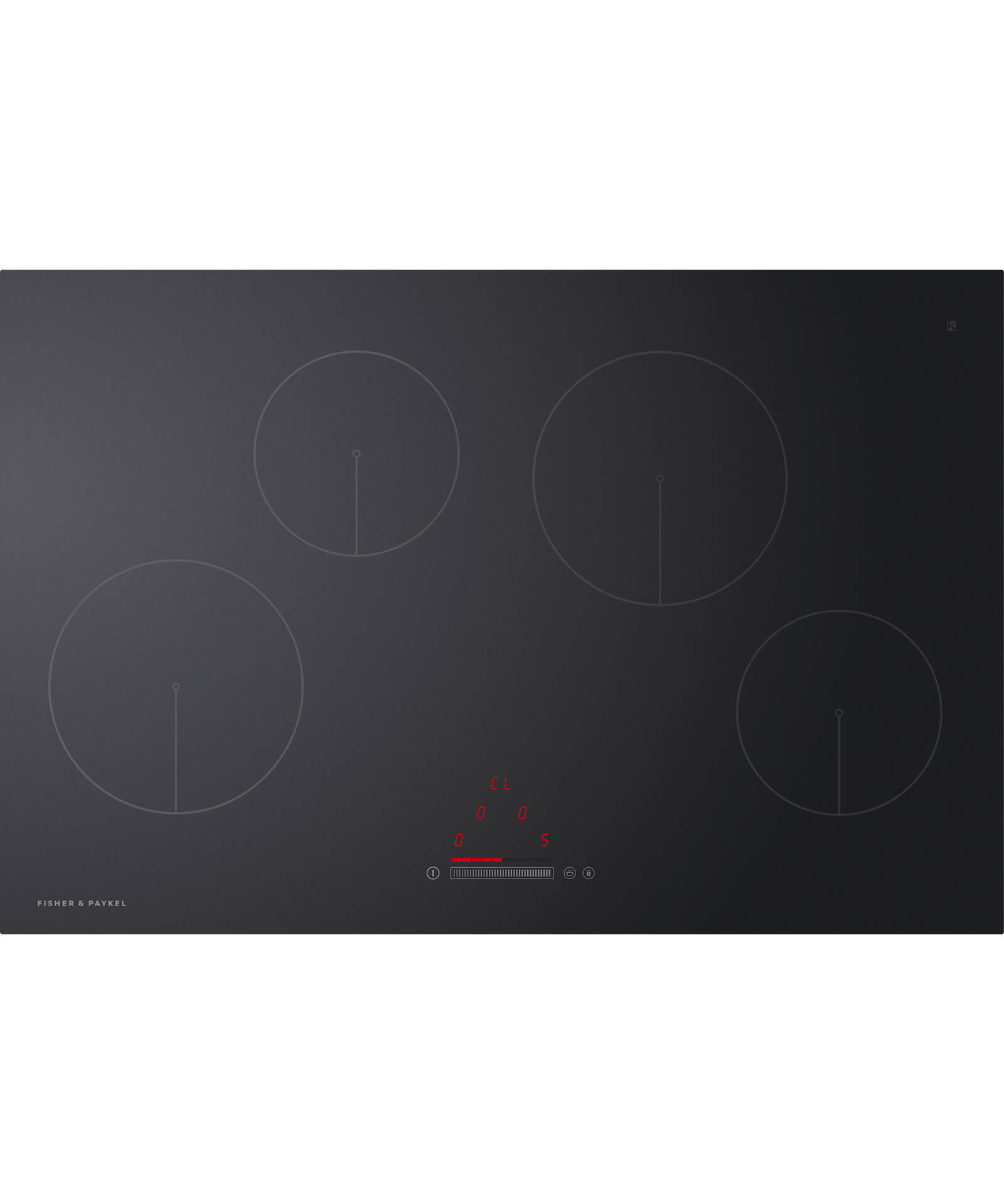 CI804CTB1 - 80cm 4 Zone Induction Hob - 81104