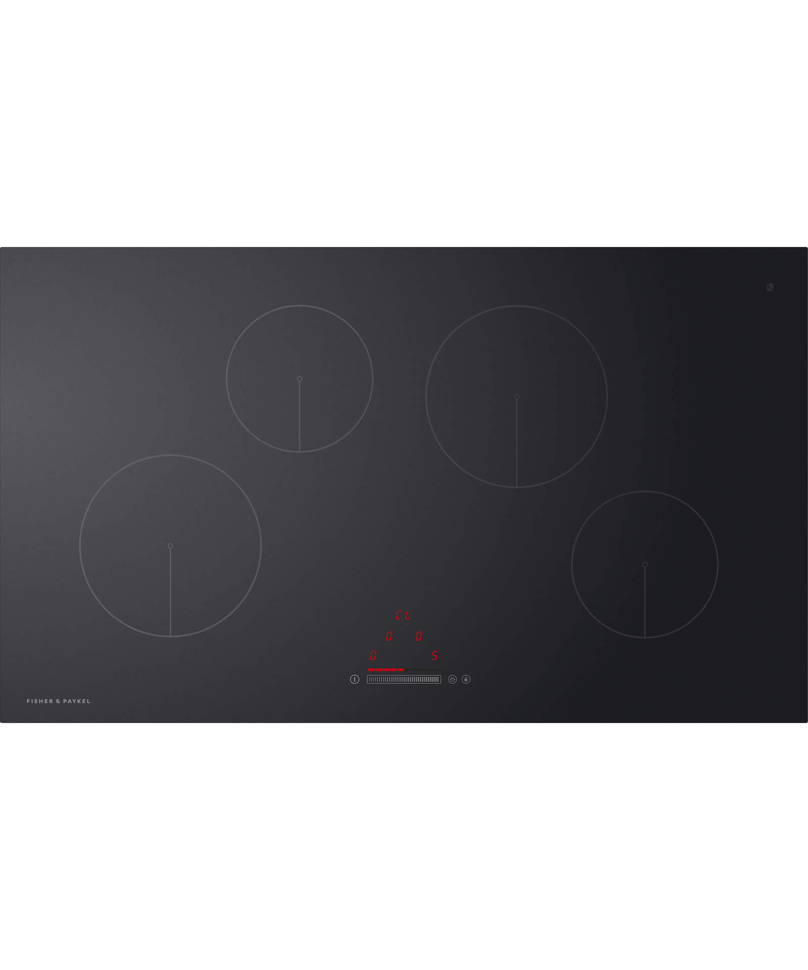 CI904CTB1 - 90cm 4 Zone Induction Hob - 81376