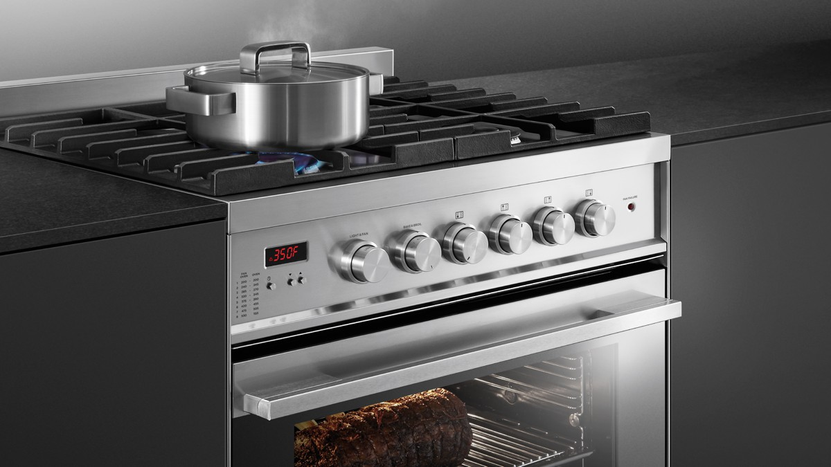 gas range. Cooking Flexibility Gas Range