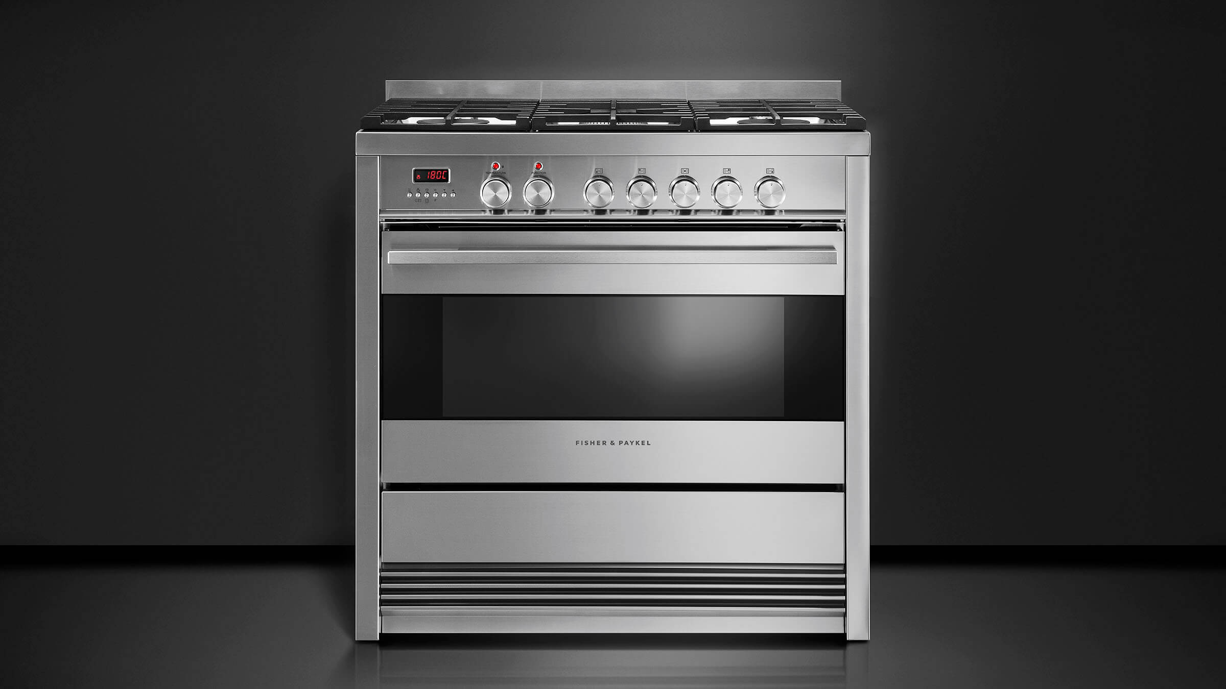 Freestanding stoves, ranges & ovens - Fisher & Paykel NZ