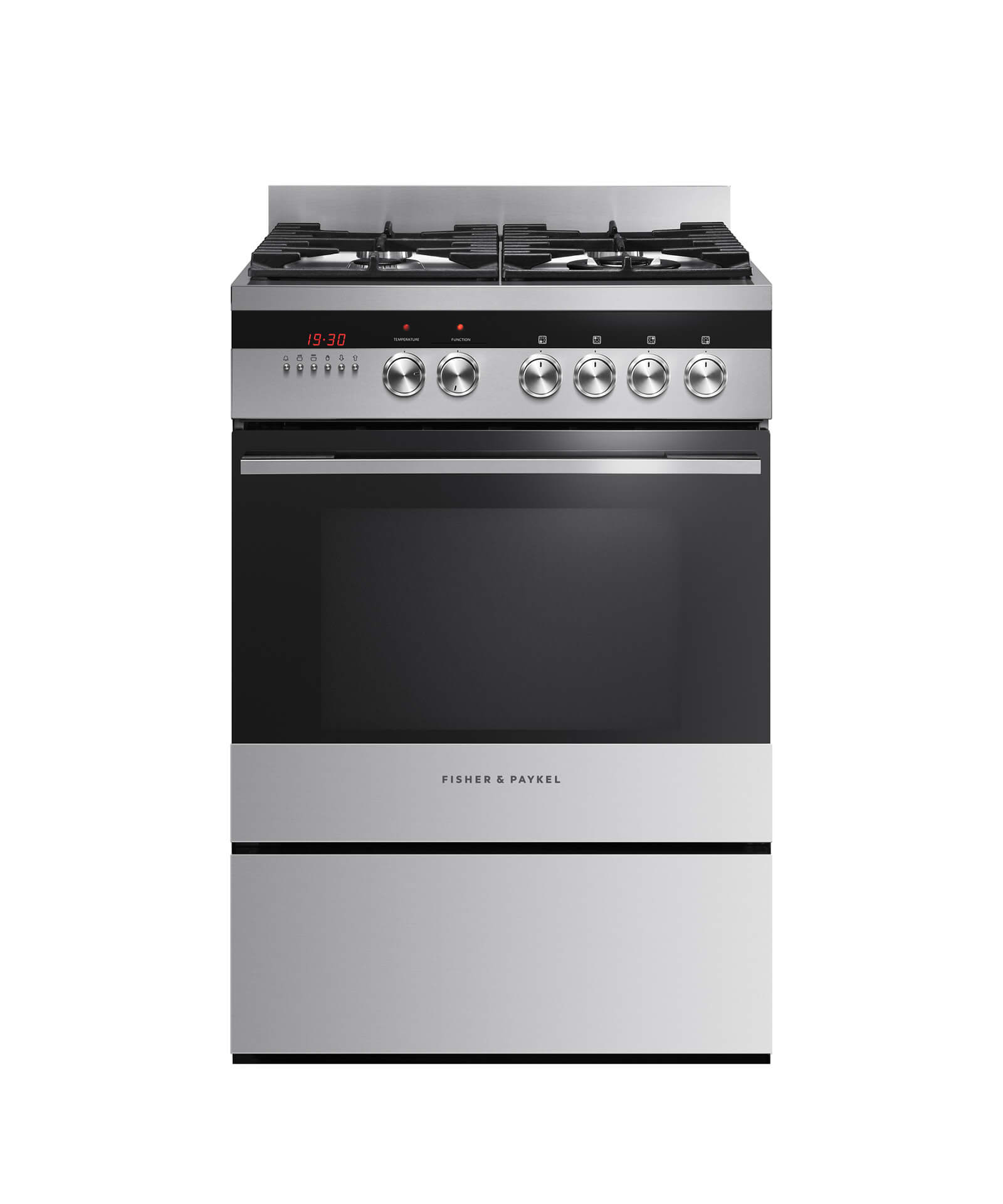 Fisher and Paykel Freestanding Dual Fuel Cooker