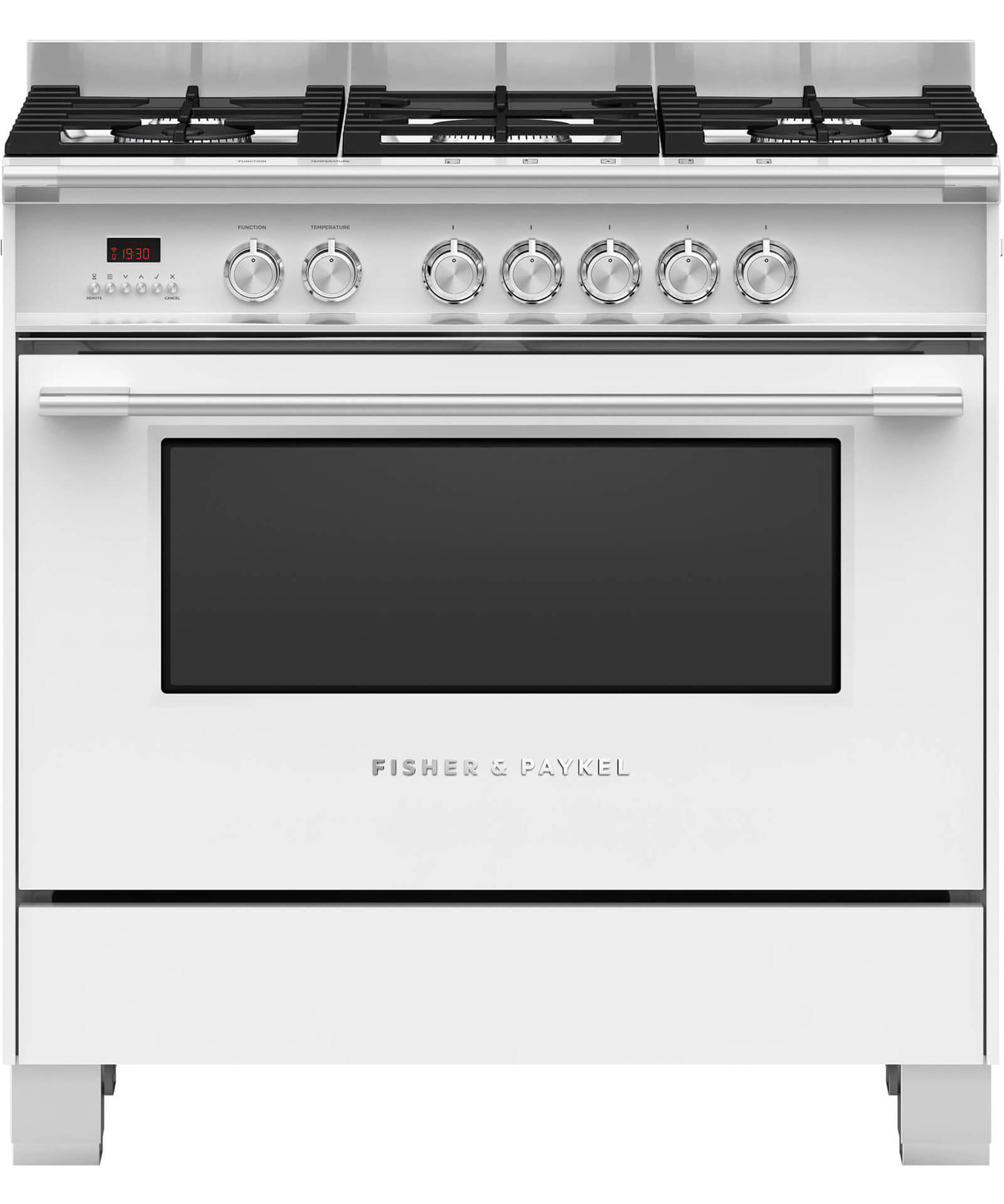 Or90scg4w1 Freestanding Dual Fuel Cooker 90cm Fisher