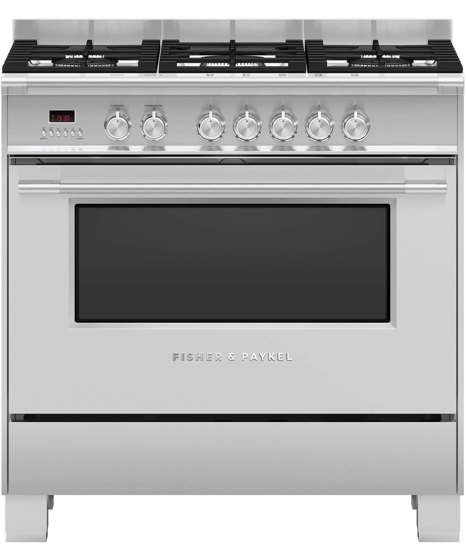 Or90scg4x1 Freestanding Dual Fuel Cooker 90cm Fisher