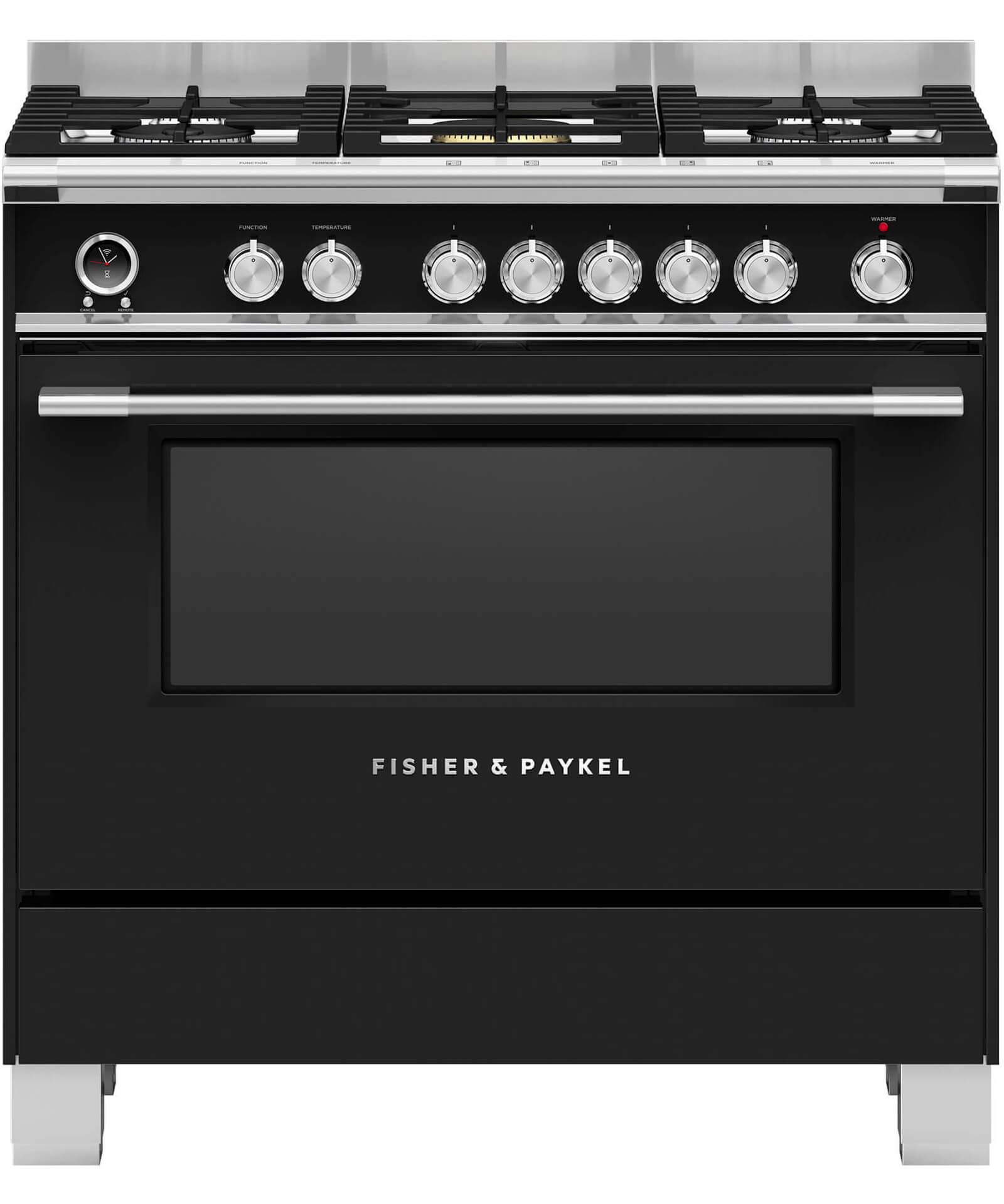 Fuel Induction Service >> OR90SCG6B1 - Freestanding Dual Fuel Cooker 90cm   Fisher ...