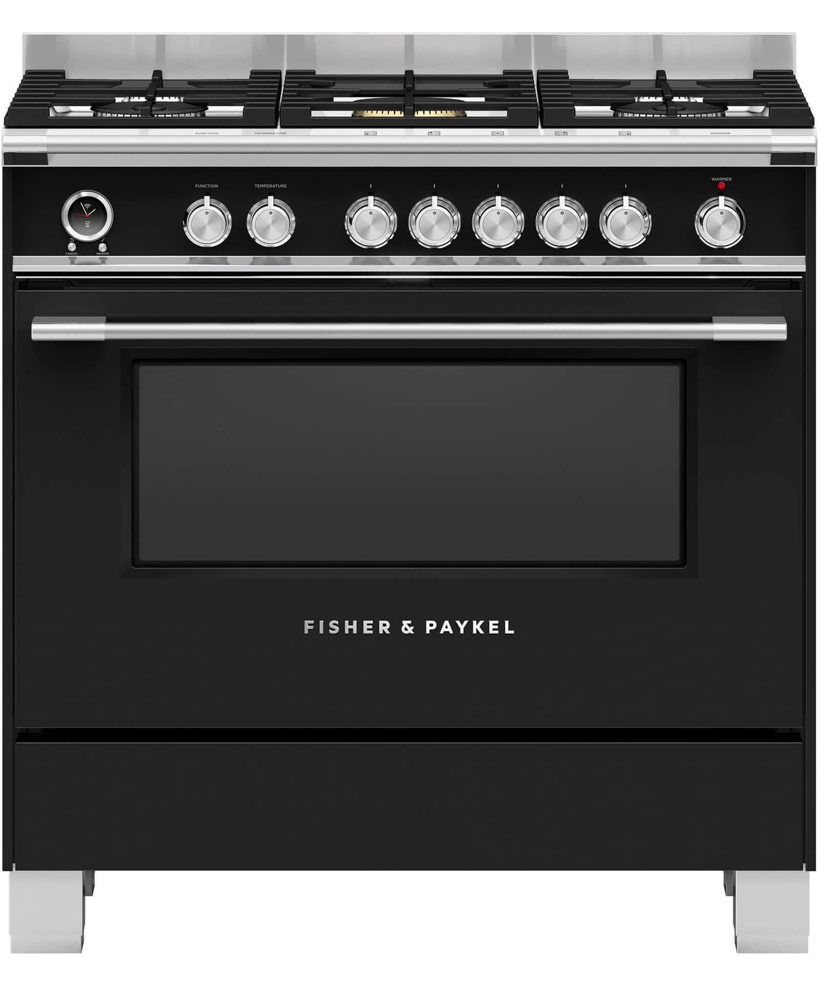 Or90scg6b1 Freestanding Dual Fuel Cooker 90cm Fisher