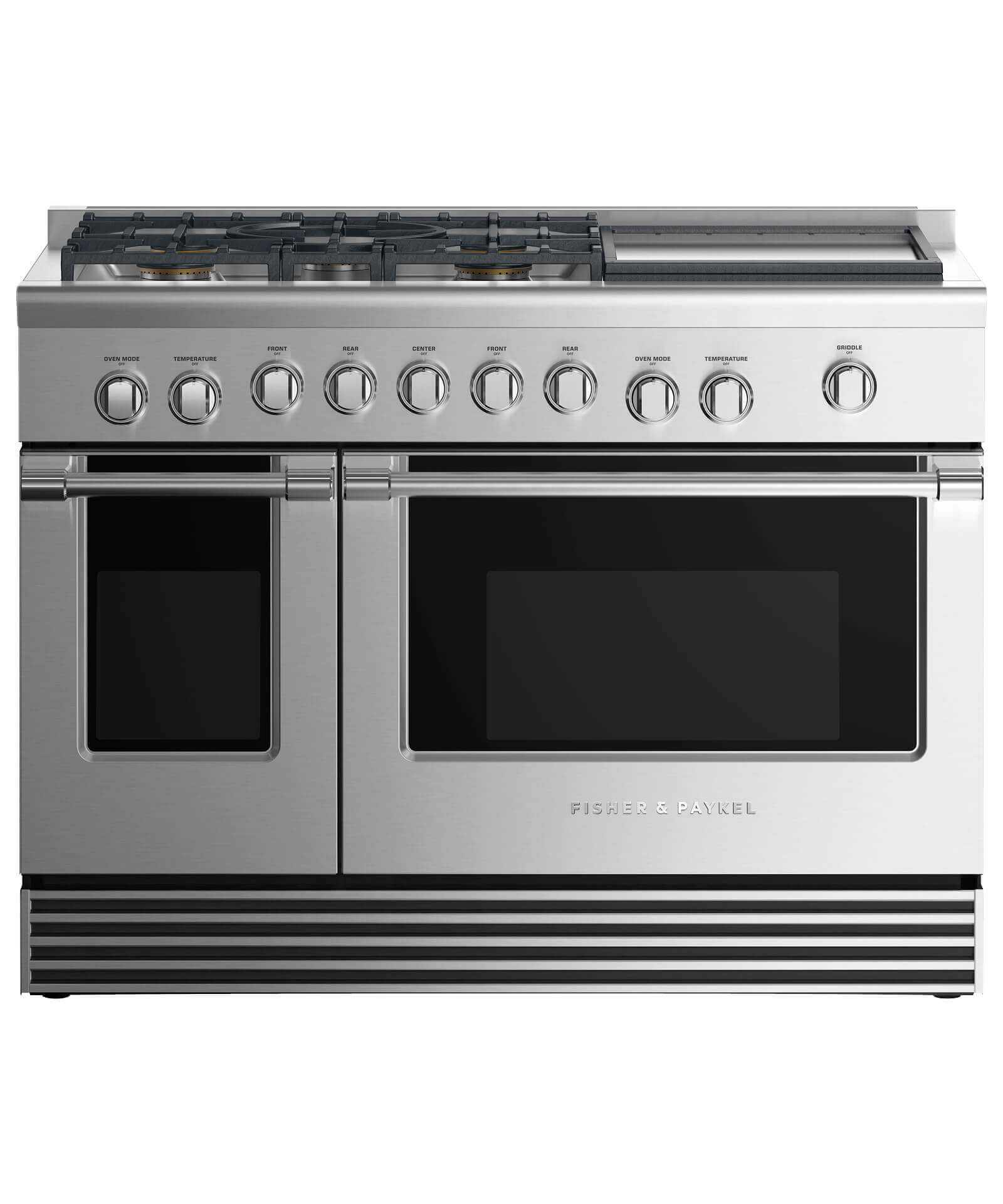 Rgv2 485gd N 48 Gas Range 5 Burners With Griddle