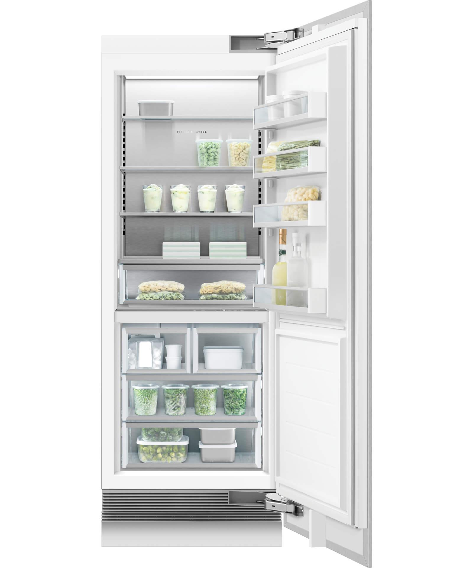 Rs3084frjk1 Integrated Column Freezer 30 Quot Fisher
