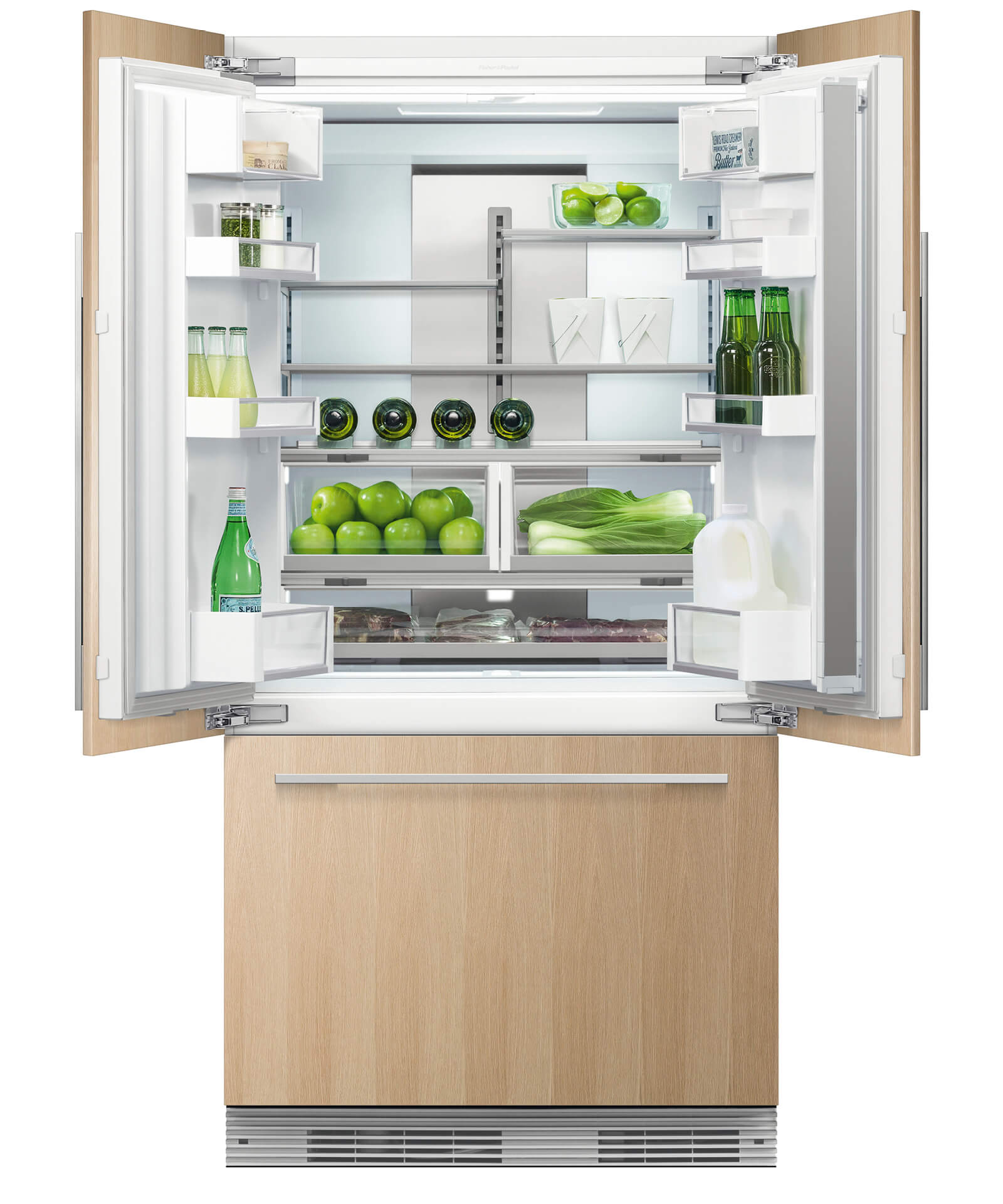 Rs36a72j1n Integrated Refrigerator With Ice Fisher Paykel Us