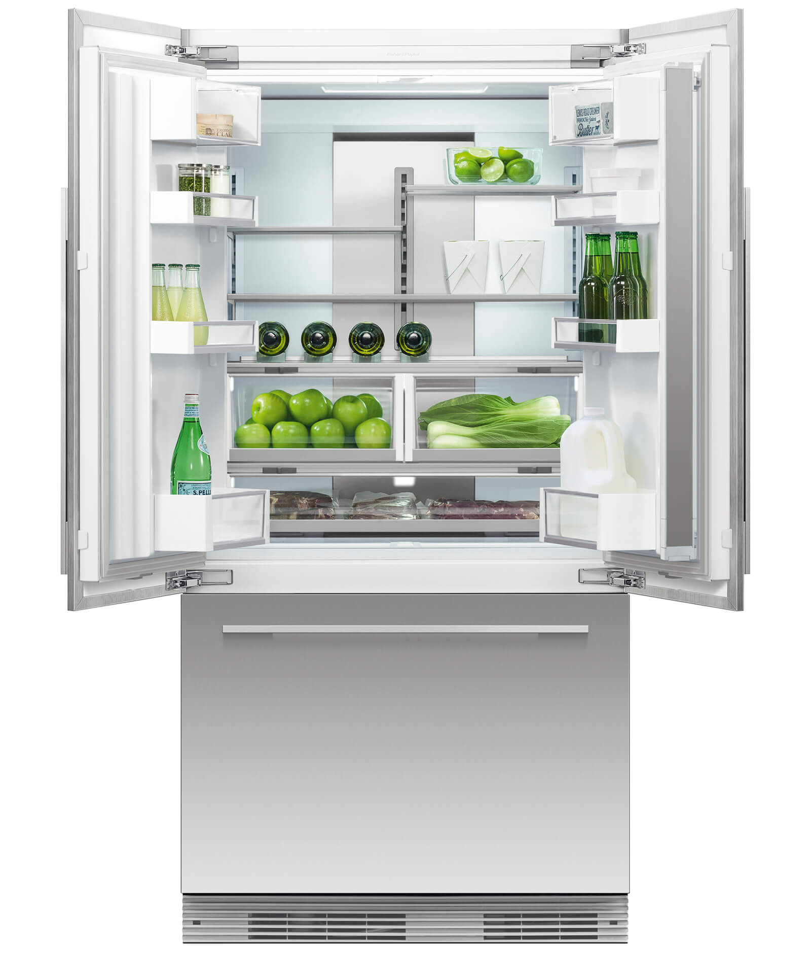 Rs36a72u1 integrated french door refrigerator fisher paykel prevnext asfbconference2016 Images