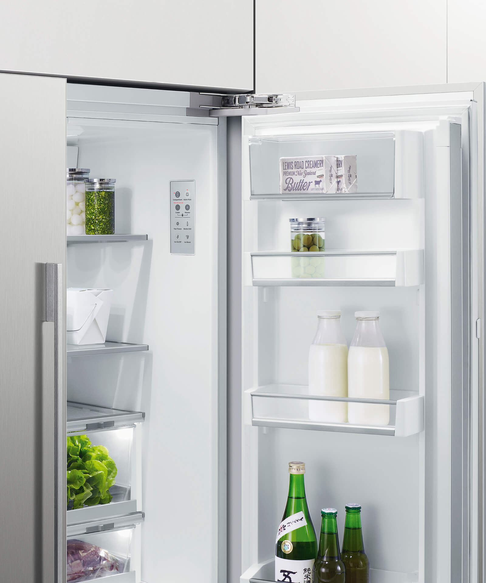 Rs90au1 Integrated French Door Fridge Freezer Fisher Paykel Uk