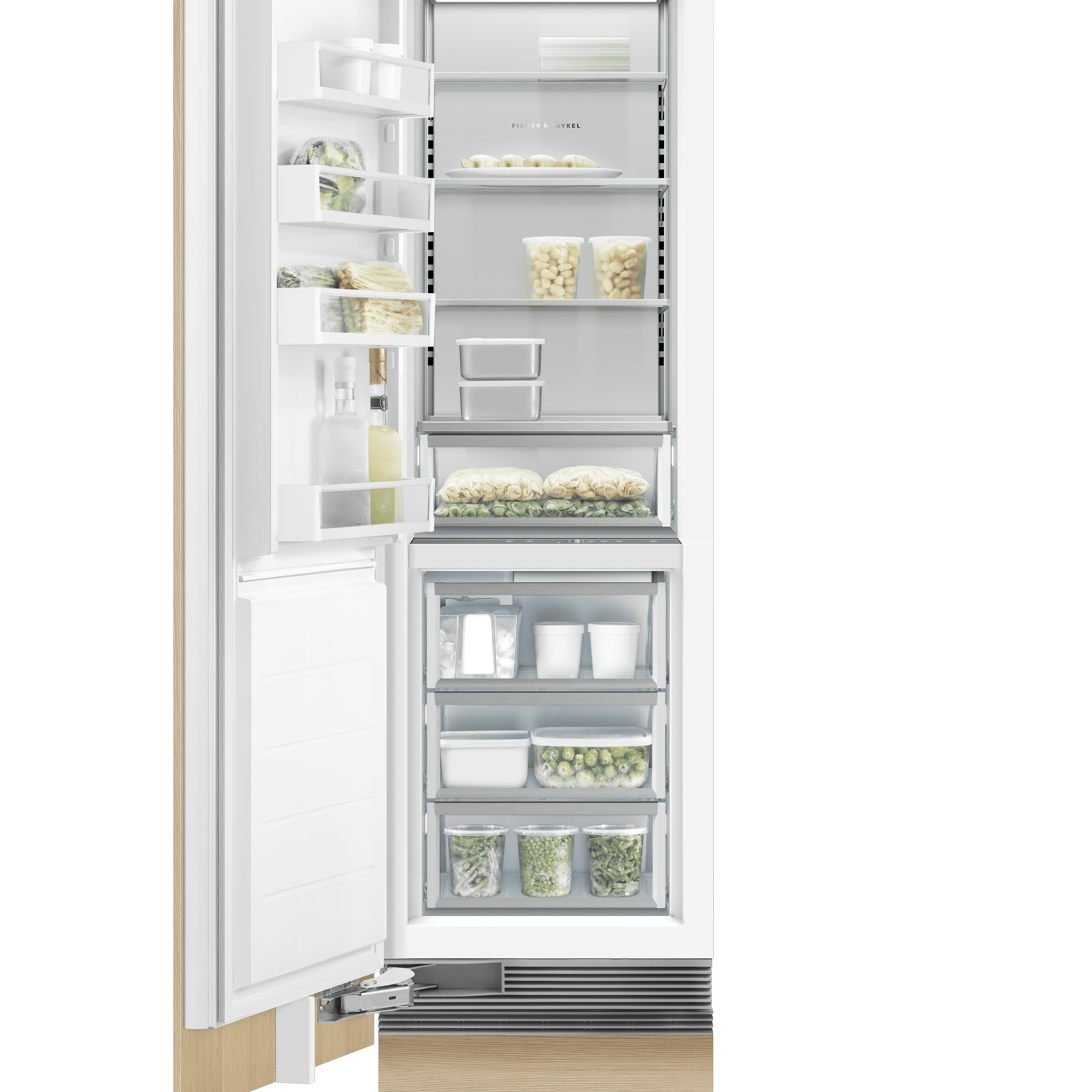 Integrated Column Freezer 24""