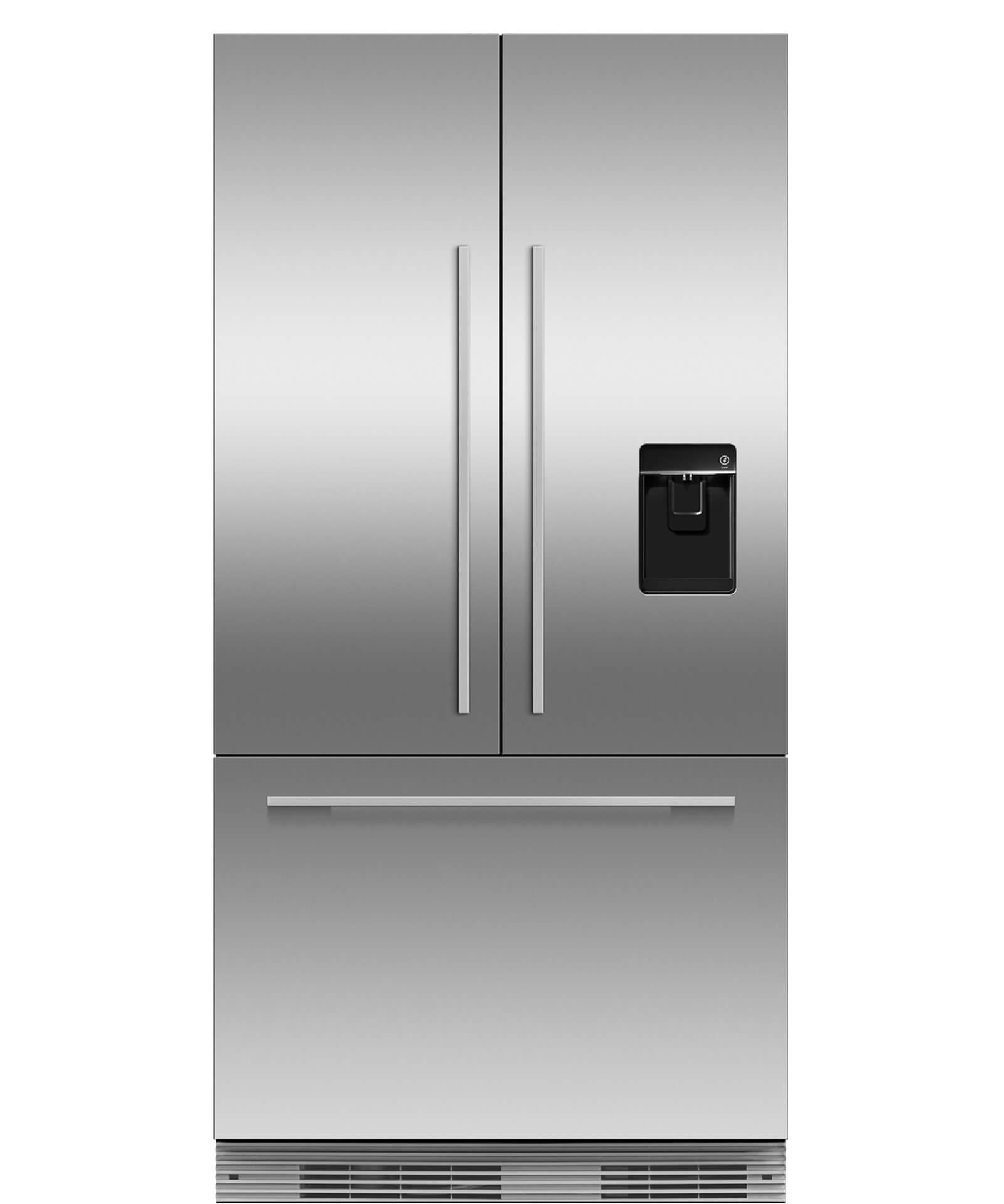 "RS36A72U1_N - ActiveSmart™ Refrigerator 36"" French Door Integrated with ice & water – 72"" Tall - 25076"