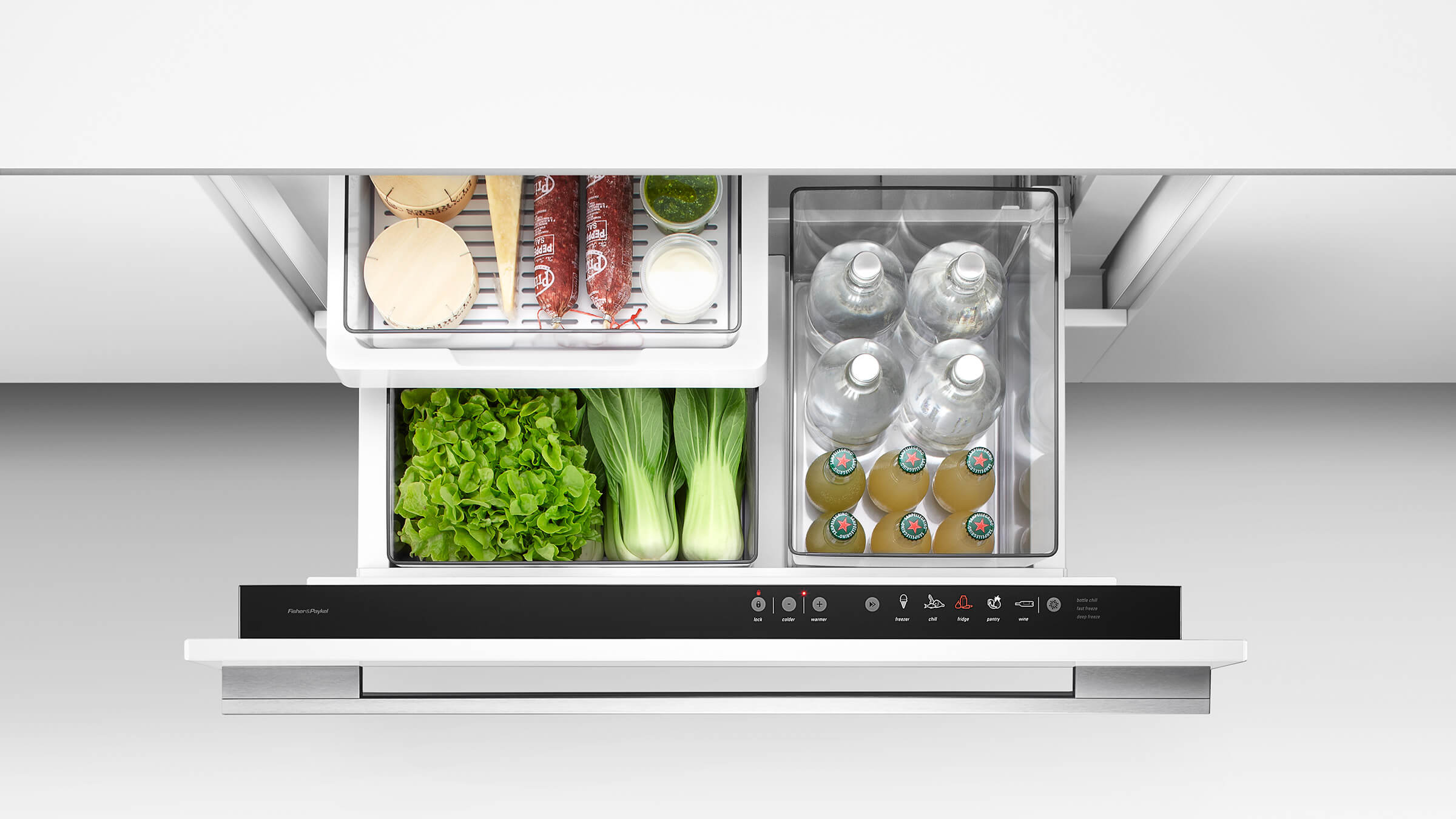 under depth single fisher refrigerators drawer counter us refrigerator within freezer ideas bottom x paykel measurements