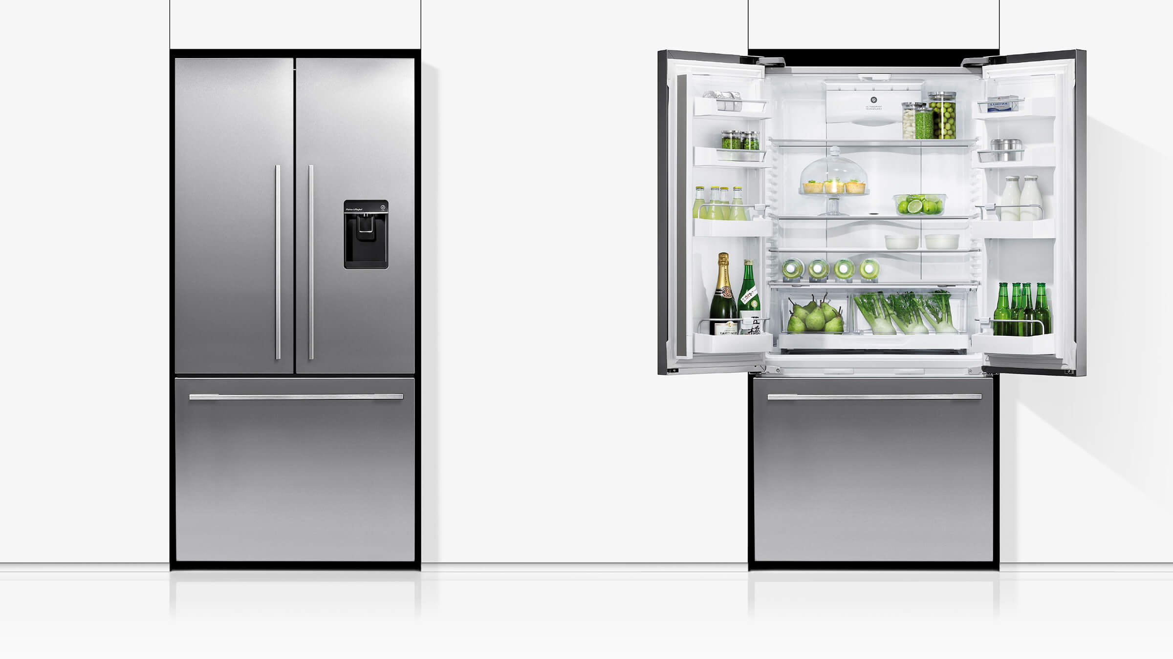 Buy Fisher Amp Paykel 519l French Door Fridge Harvey Norman Au
