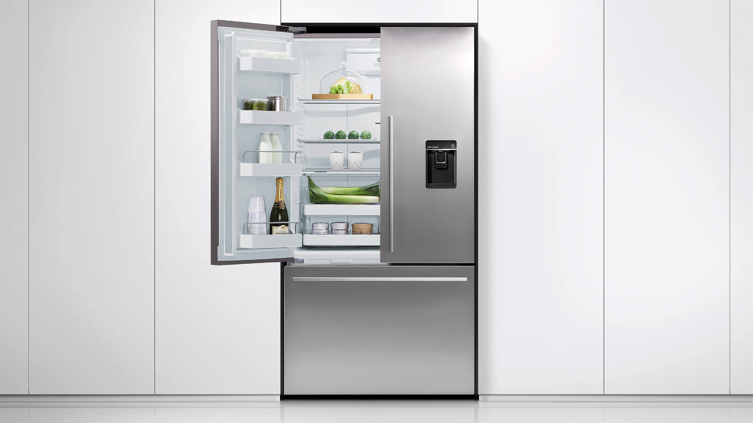 RF522ADUSX5 - French Door Fridge Freezer | Fisher & Paykel NZ