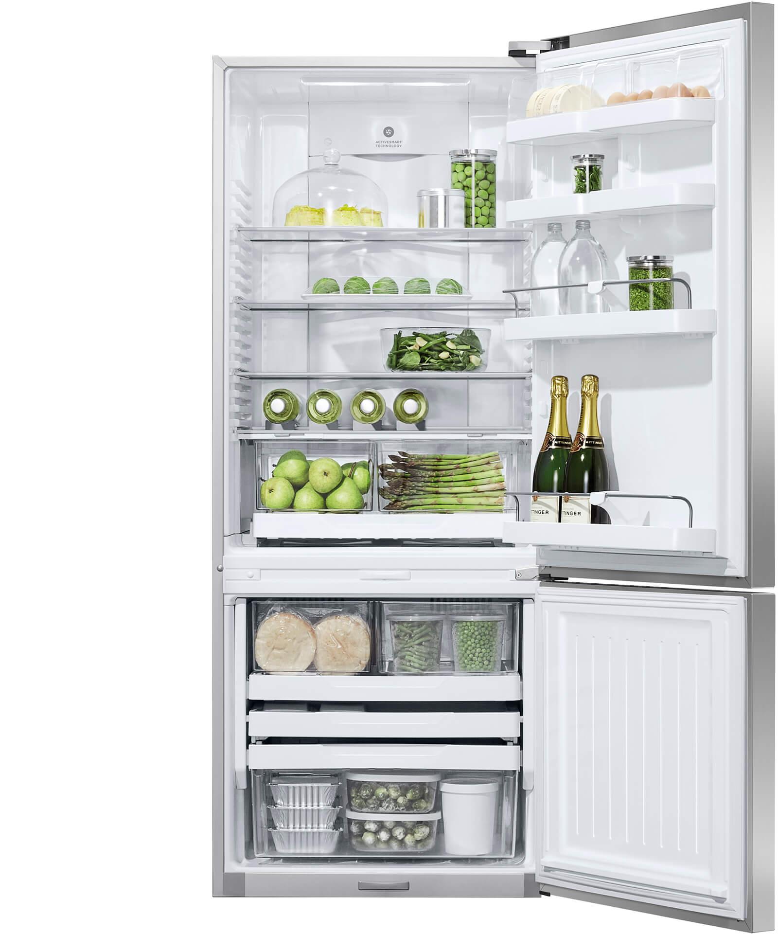 E442brxfd5 Activesmart Fridge 680mm Bottom Freezer 442l