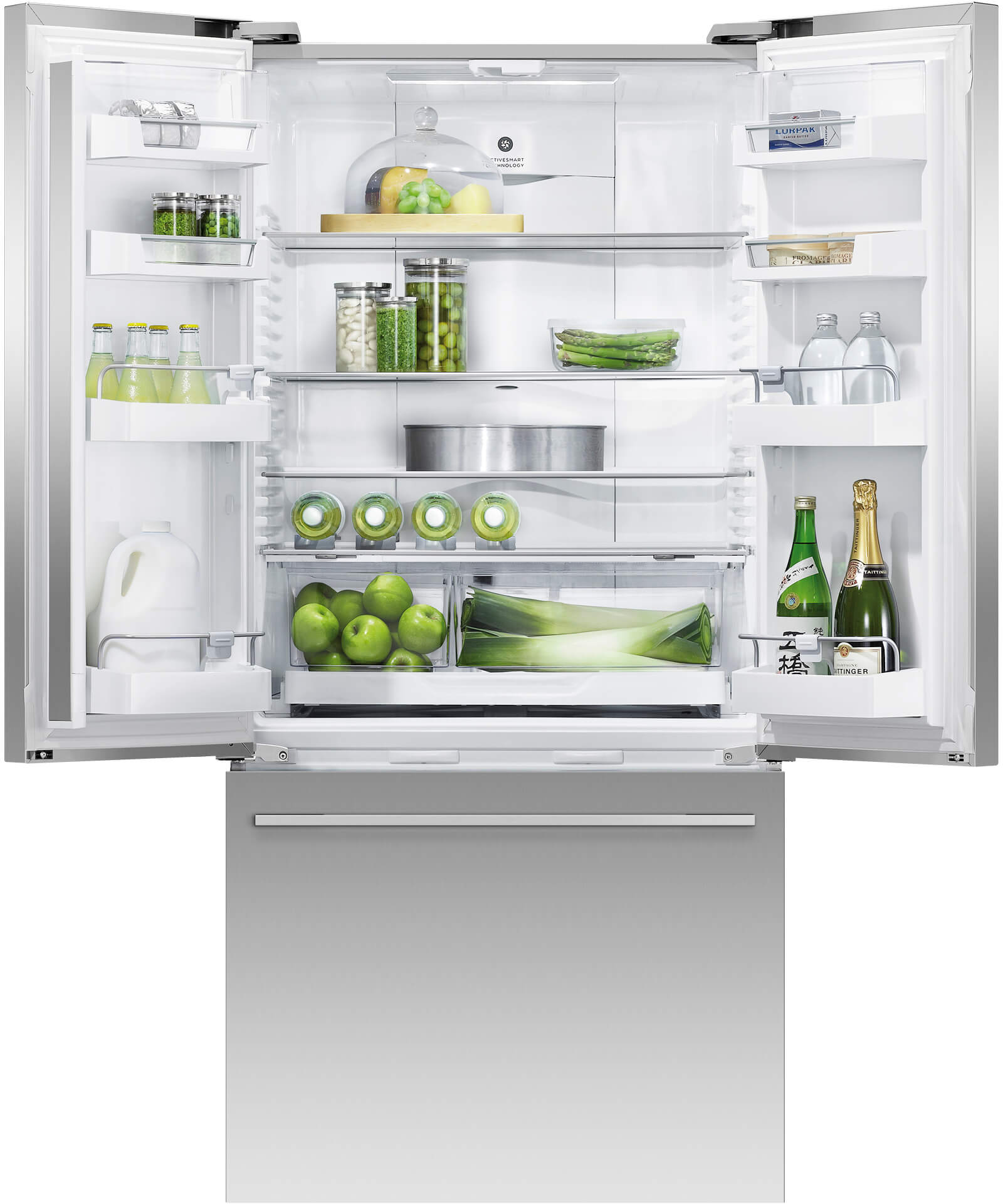 Rf522adx5 Stainless Steel Fridge Freezer Fisher Paykel