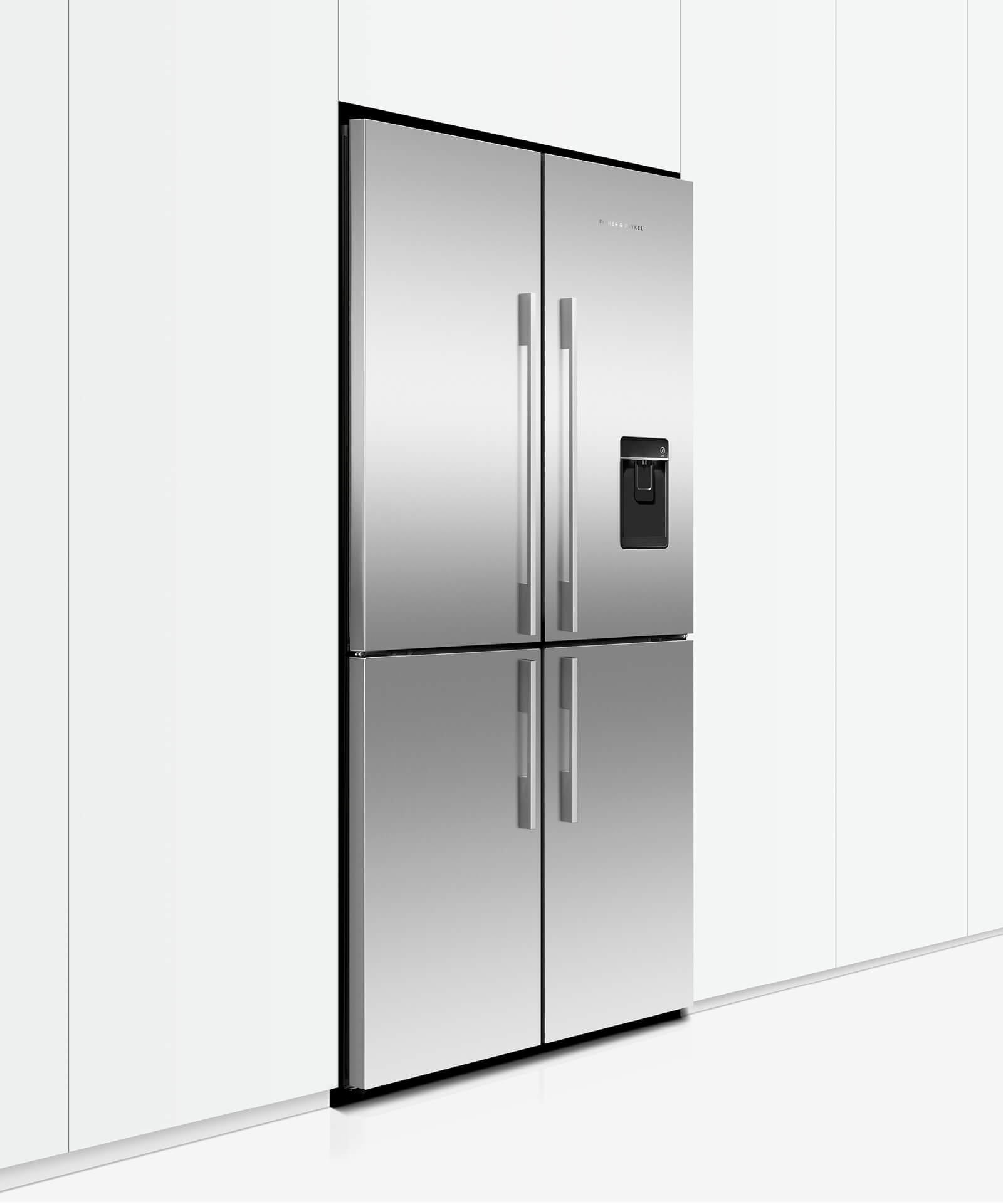 RF605QDUVX1 - Quad Door Fridge Freezer 905mm 605L Ice & Water