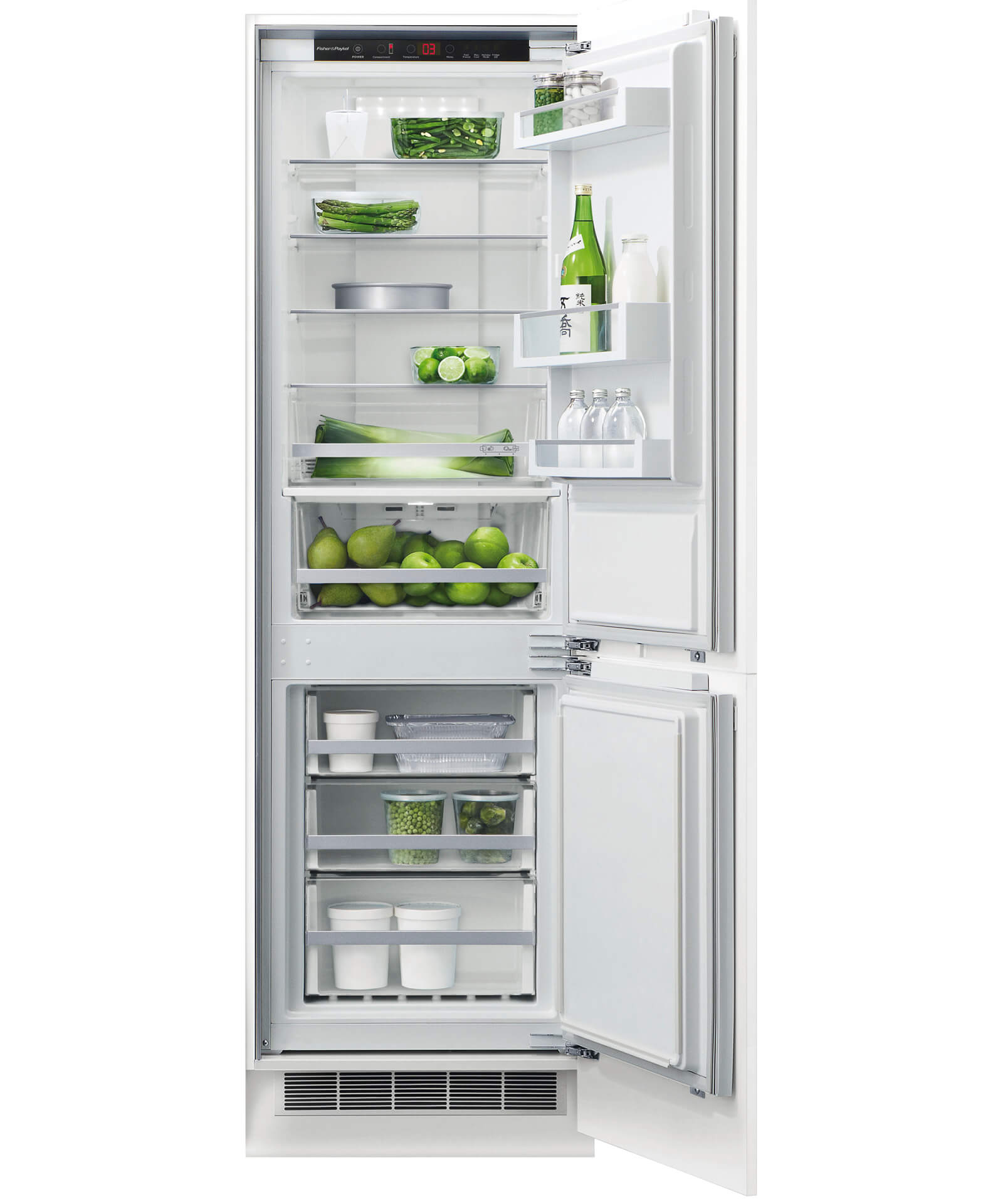 Rb60v18 Fisher Amp Paykel 60cm Integrated Fridge Freezer