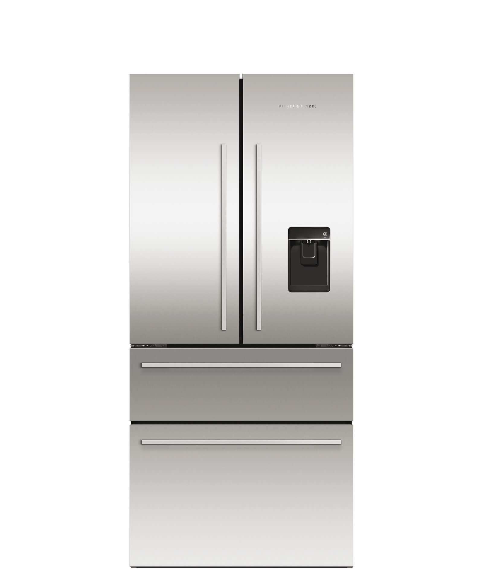 Fisher and Paykel ActiveSmart™ Refrigerator - 16.9 cu ft. counter depth French Door, Ice & Water