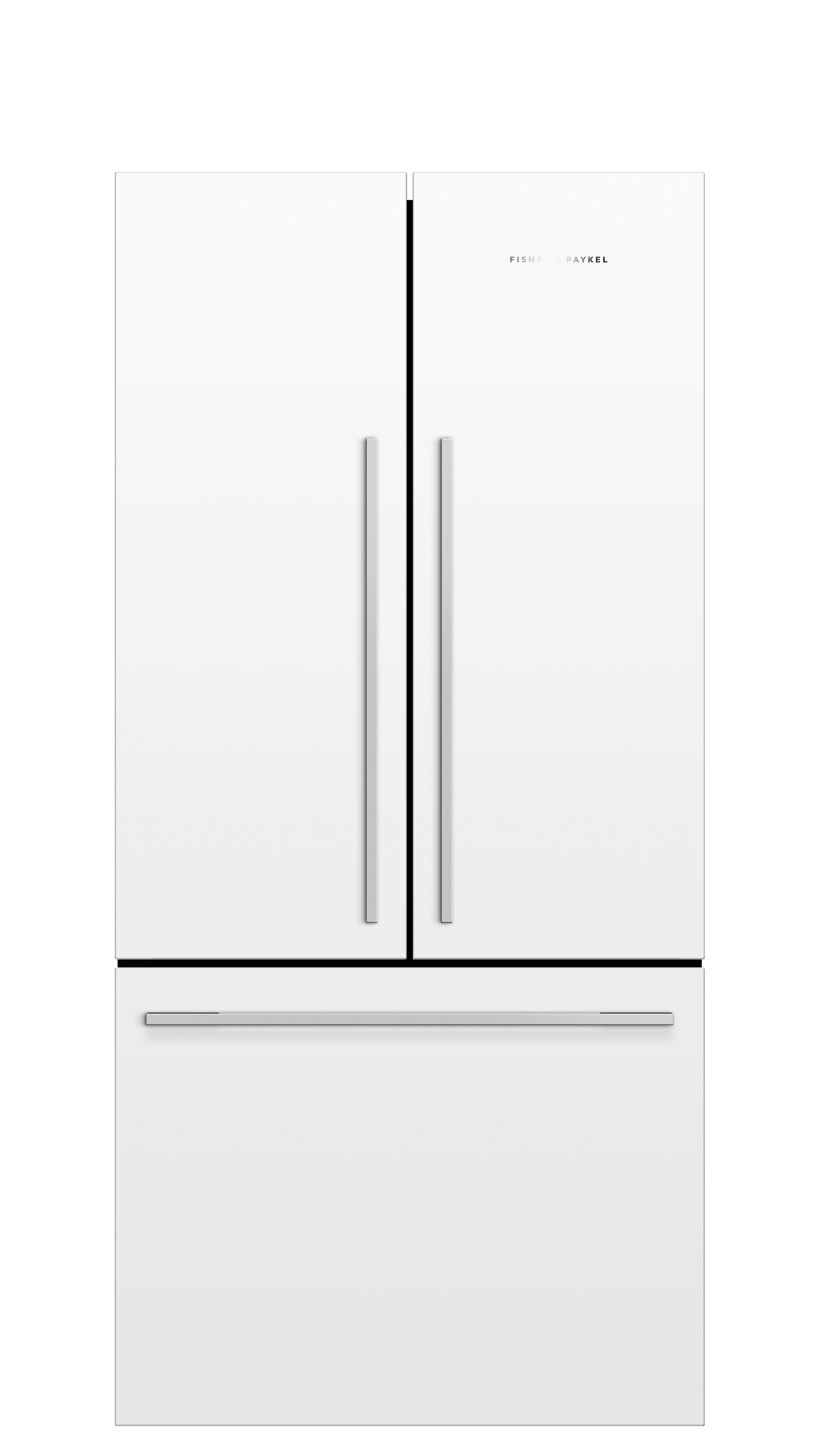 Model: RF170ADW5_N | Fisher and Paykel French Door Refrigerator 17 cu ft