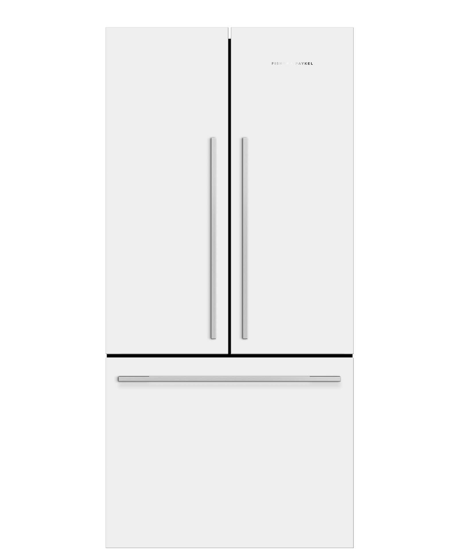 white french door refrigerator. RF522ADW5 - ActiveSmart™ Fridge 790mm French Door 519L 25088 White Refrigerator