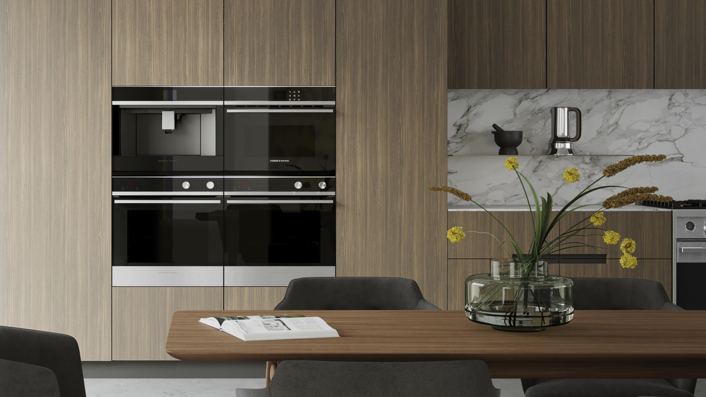 "Model: OB24SCDEPX1 | Fisher and Paykel Built-in Oven, 24"", 3 cu ft, 11 Function, Self-cleaning"