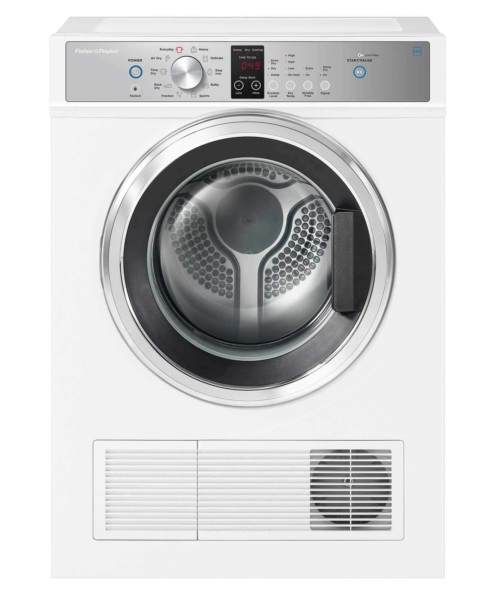 Fisher & Paykel 6 kg Premium Vented Dryer, White