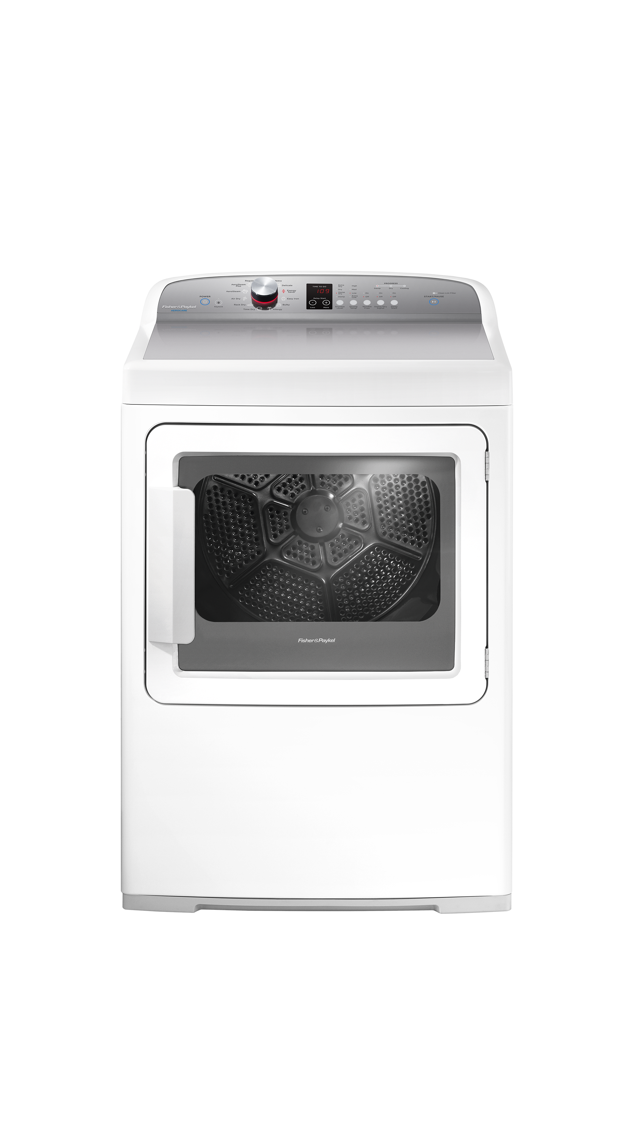 Electric Dryer, SmartTouch™ Dial and Steam Cycles