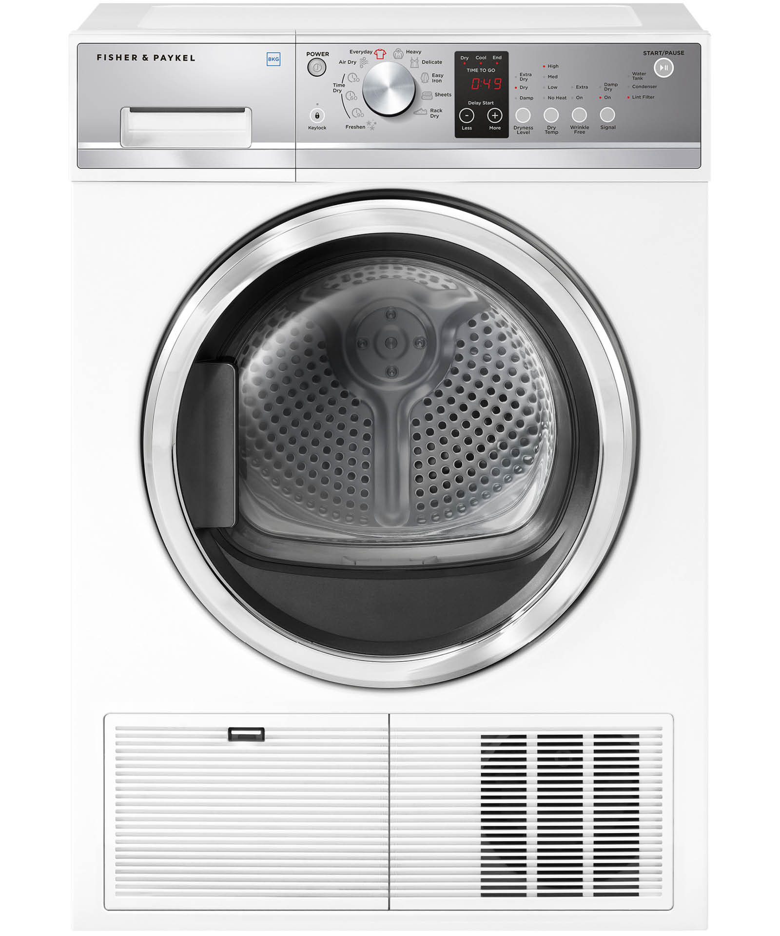 DE8060P2 - Fisher & Paykel 8 kg Condensing Dryer