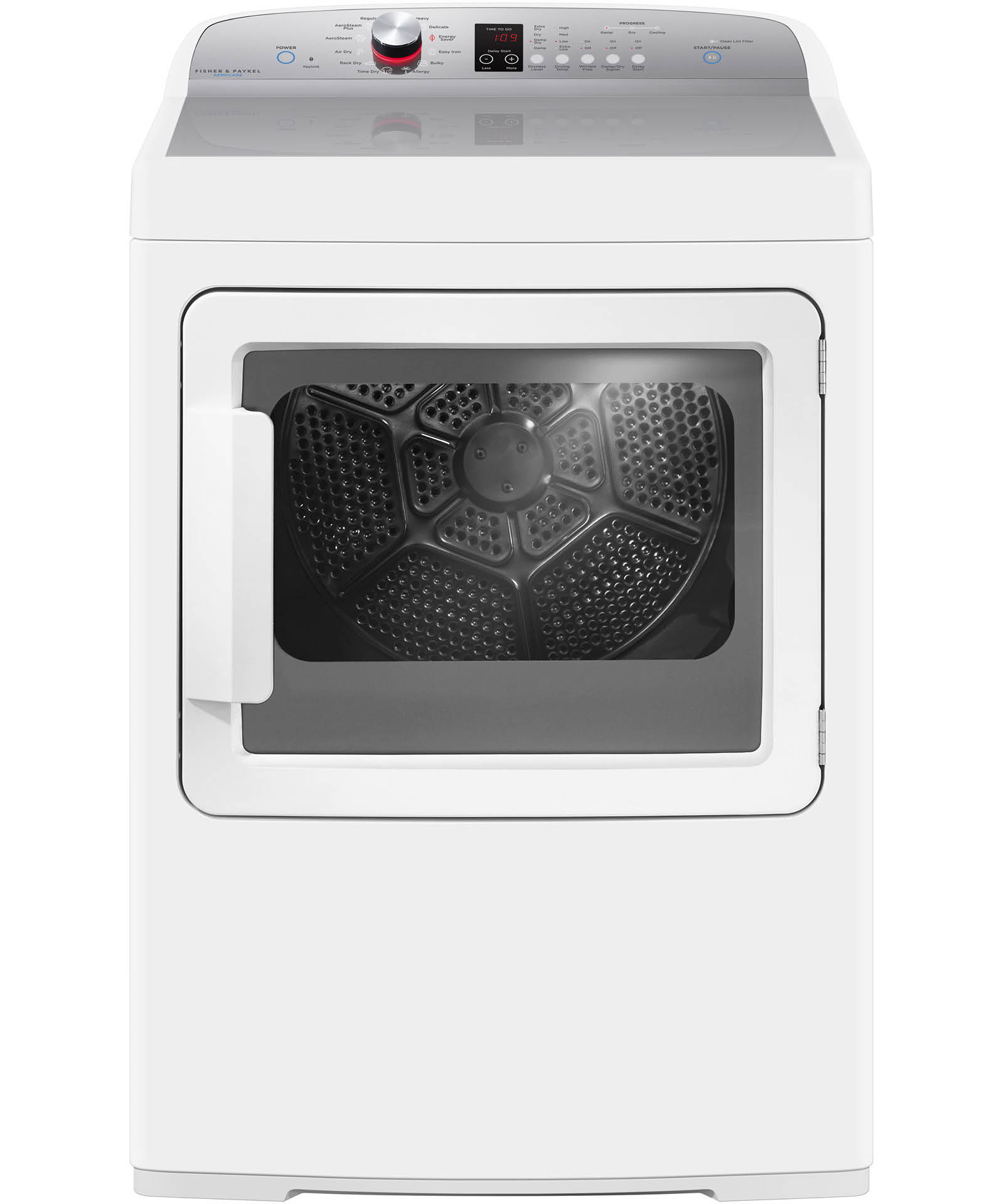 DE7027P2 - AeroCare  Electric Dryer with SmartTouch™ Dial and Steam Cycles - 96234