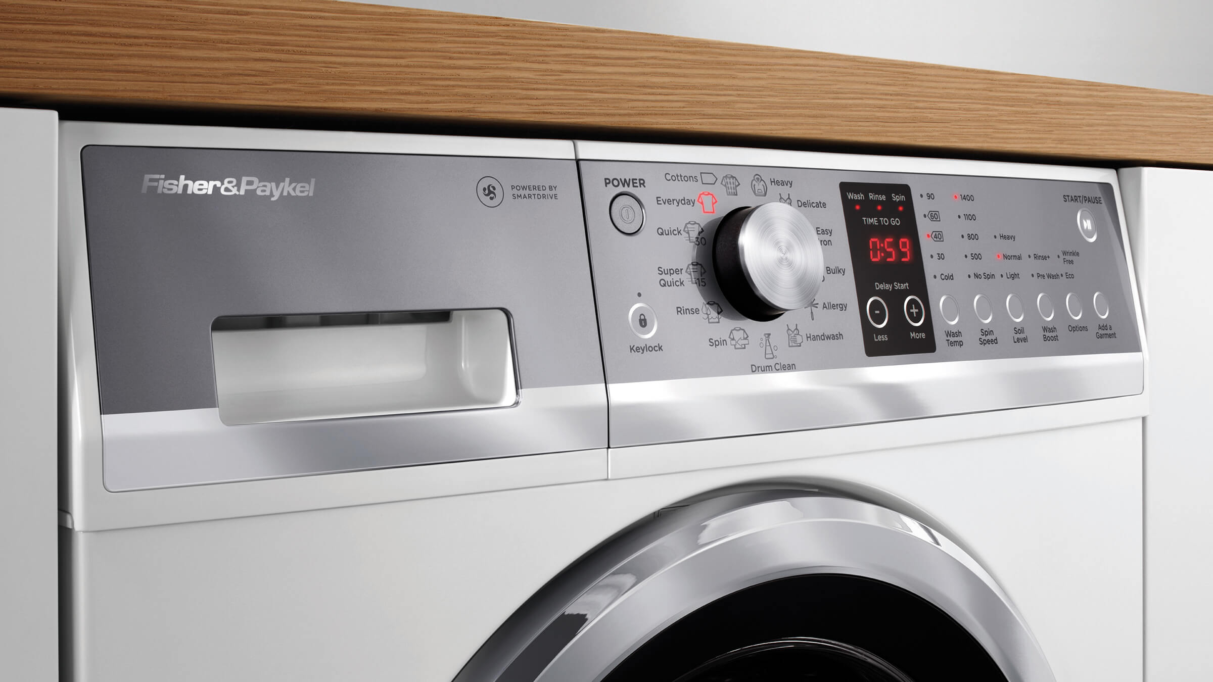 Washing machines fisher paykel smarttouch control dial fandeluxe Gallery