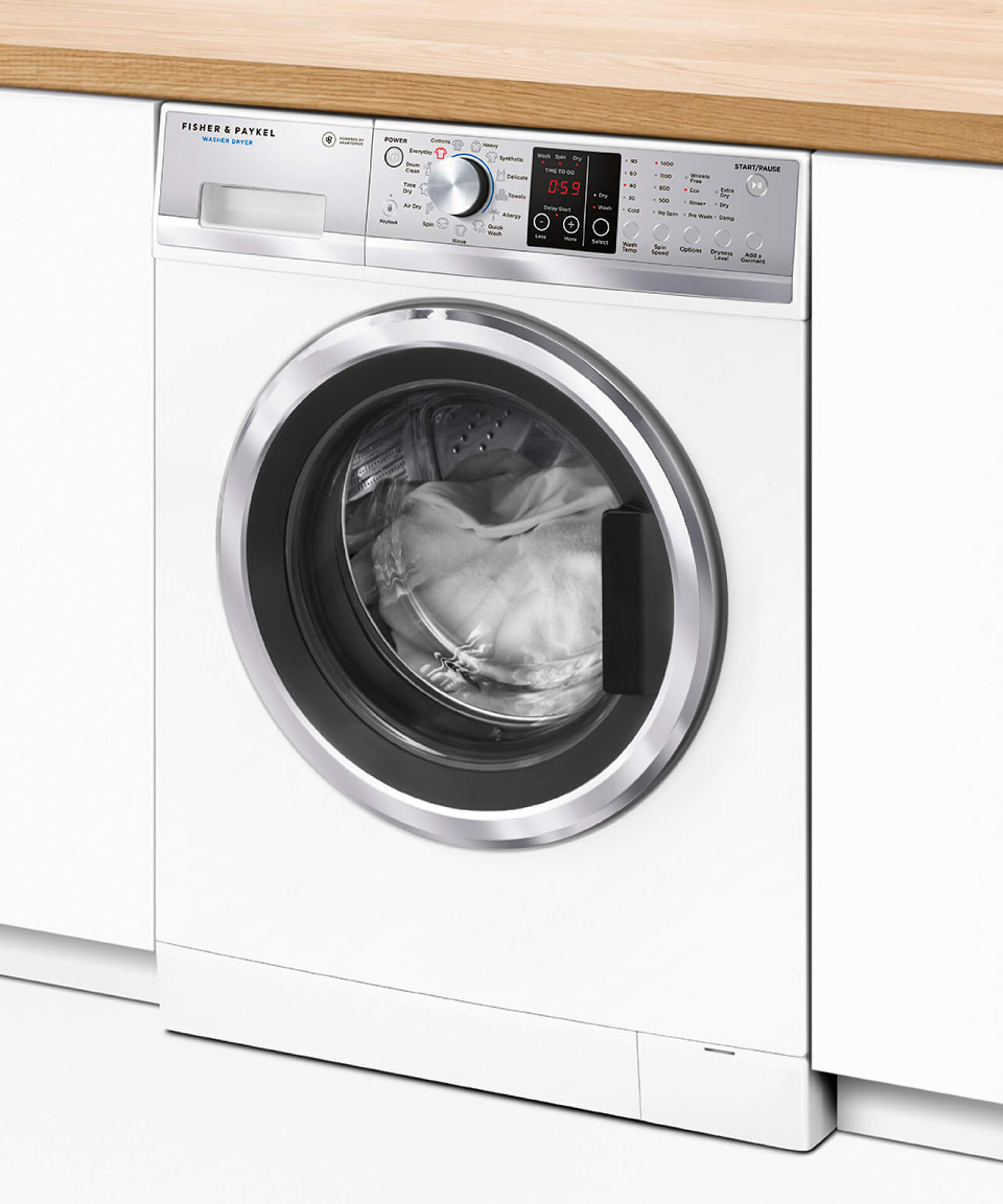 WD8560F1 Washer Dryer Combo 85kg5kg Fisher Paykel NZ